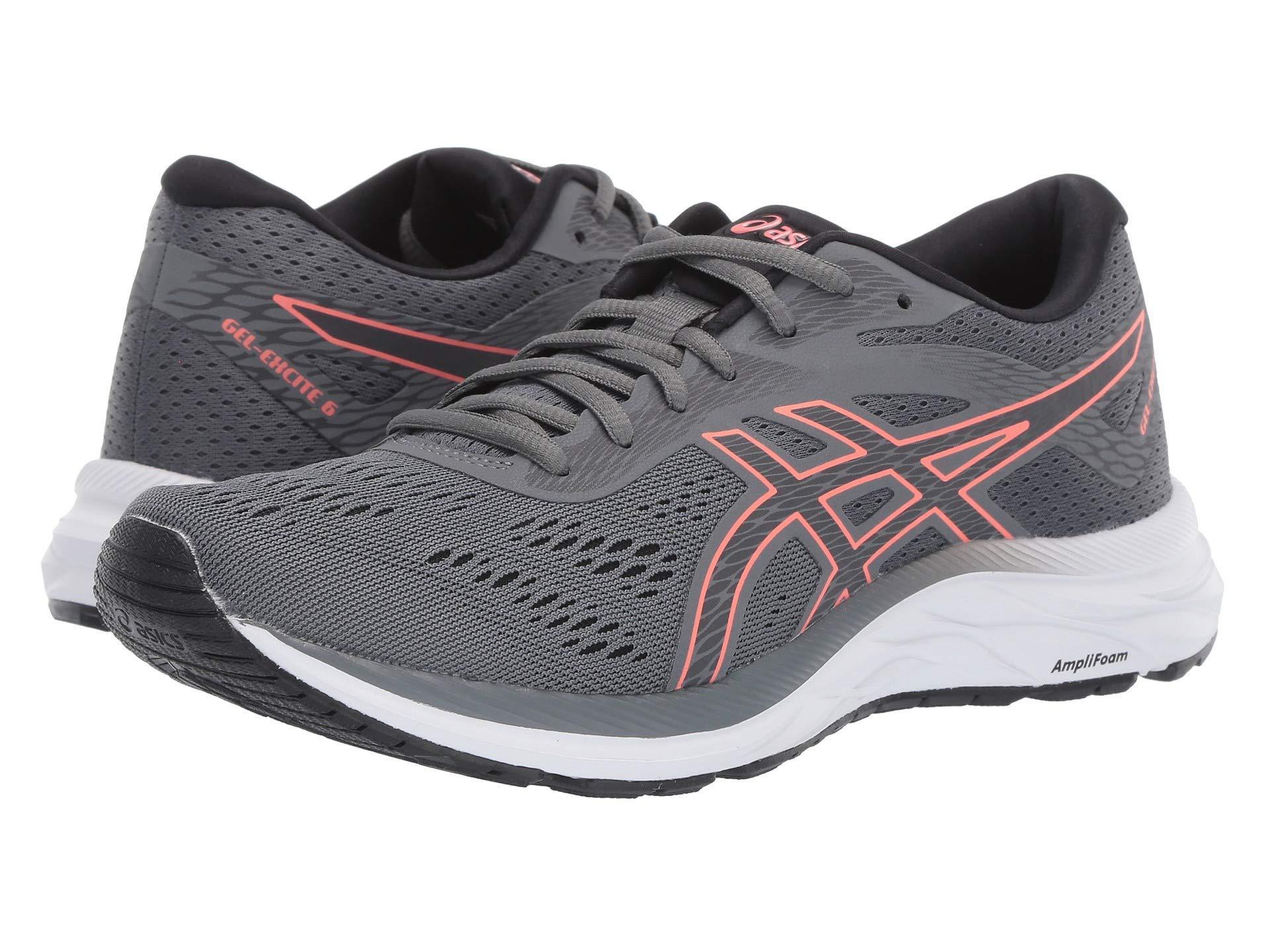 918bb9590591e Lyst - Asics Gel-excite(r) 6 (black/white) Women's Running Shoes in Gray