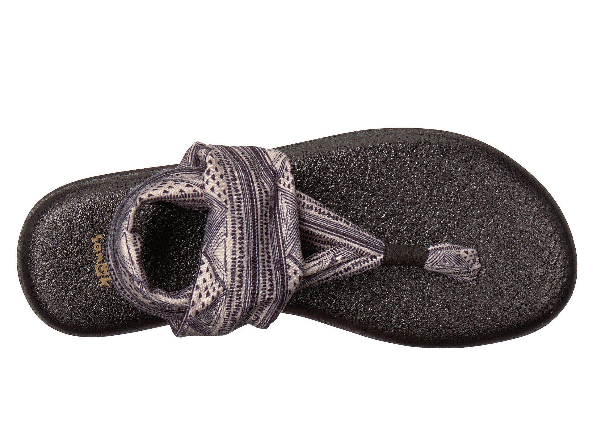 2f49784c8 Lyst - Sanuk Yoga Sling 2 Prints (natural Tye Dye) Women s Sandals
