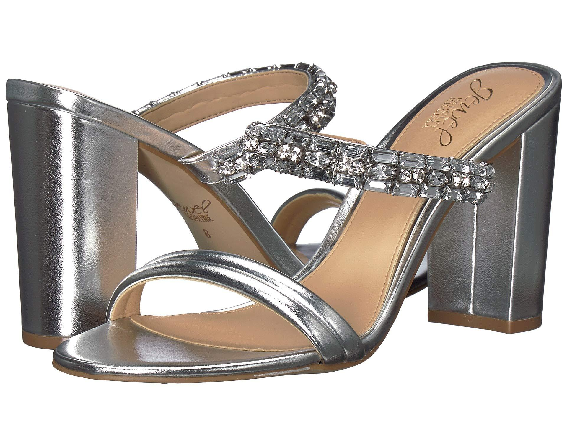 6283aefdac6 Lyst - Badgley Mischka Katherine (silver) Women s Shoes in Metallic