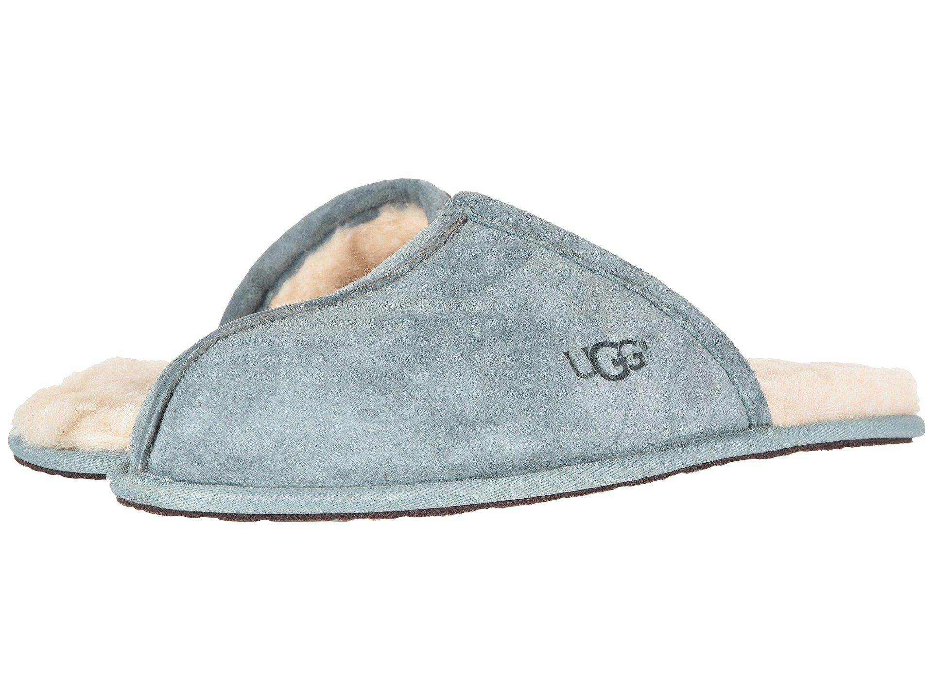 59e6c0ab0 UGG Scuff (salty Blue) Men's Slippers in Blue for Men - Lyst
