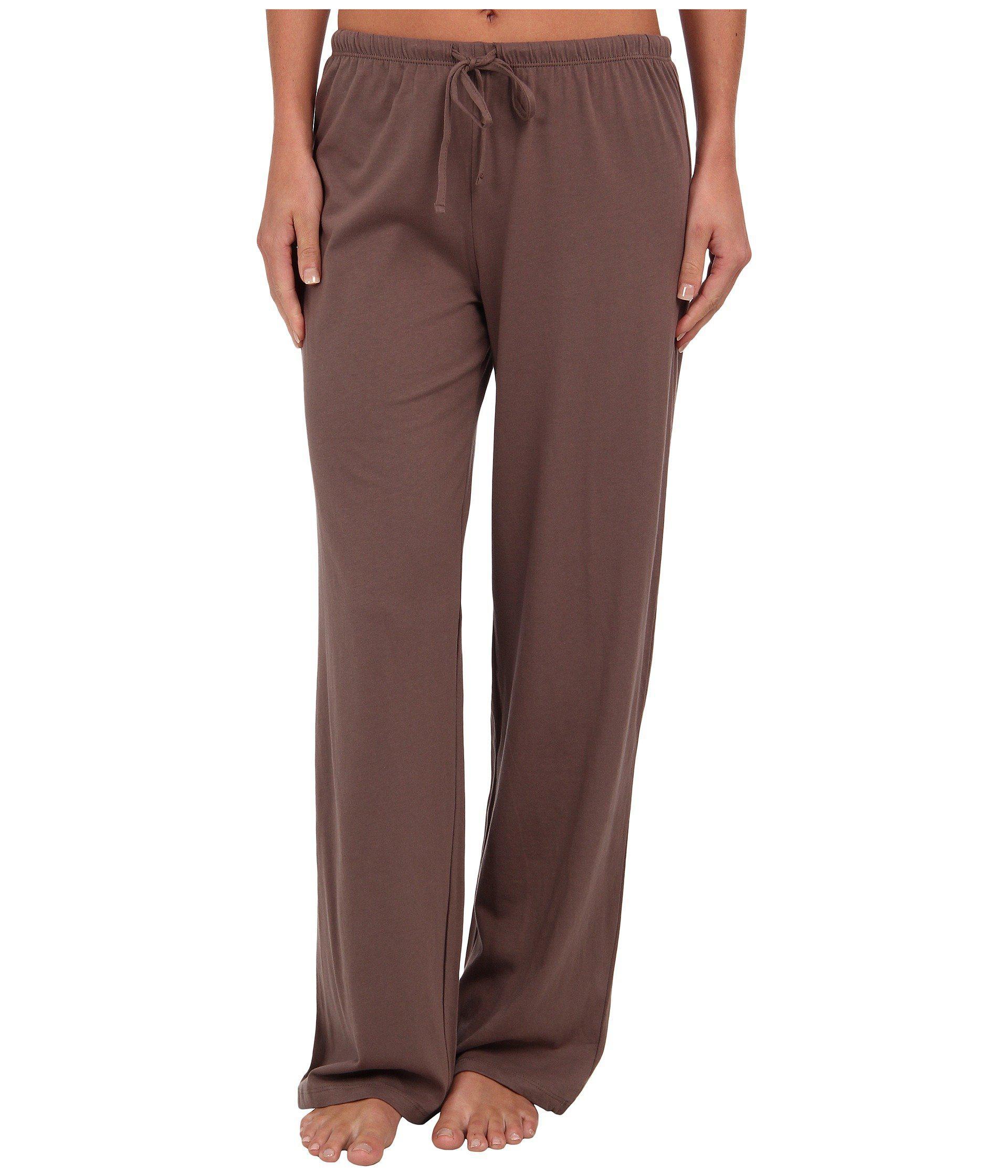 Lyst - Jockey Cotton Essentials Long Pajama Pant (taupe) Women s ... 4bb181b07