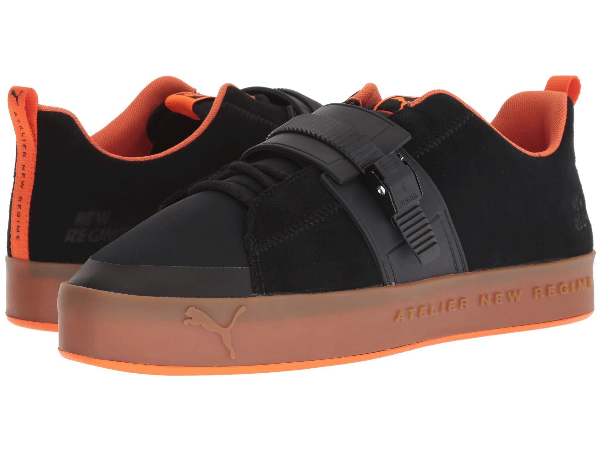 PUMA. Men s X Anr Atelier New Regime Court Platform Brace Sneaker ( Black scarlet  Ibis) Shoes 906d6d65b
