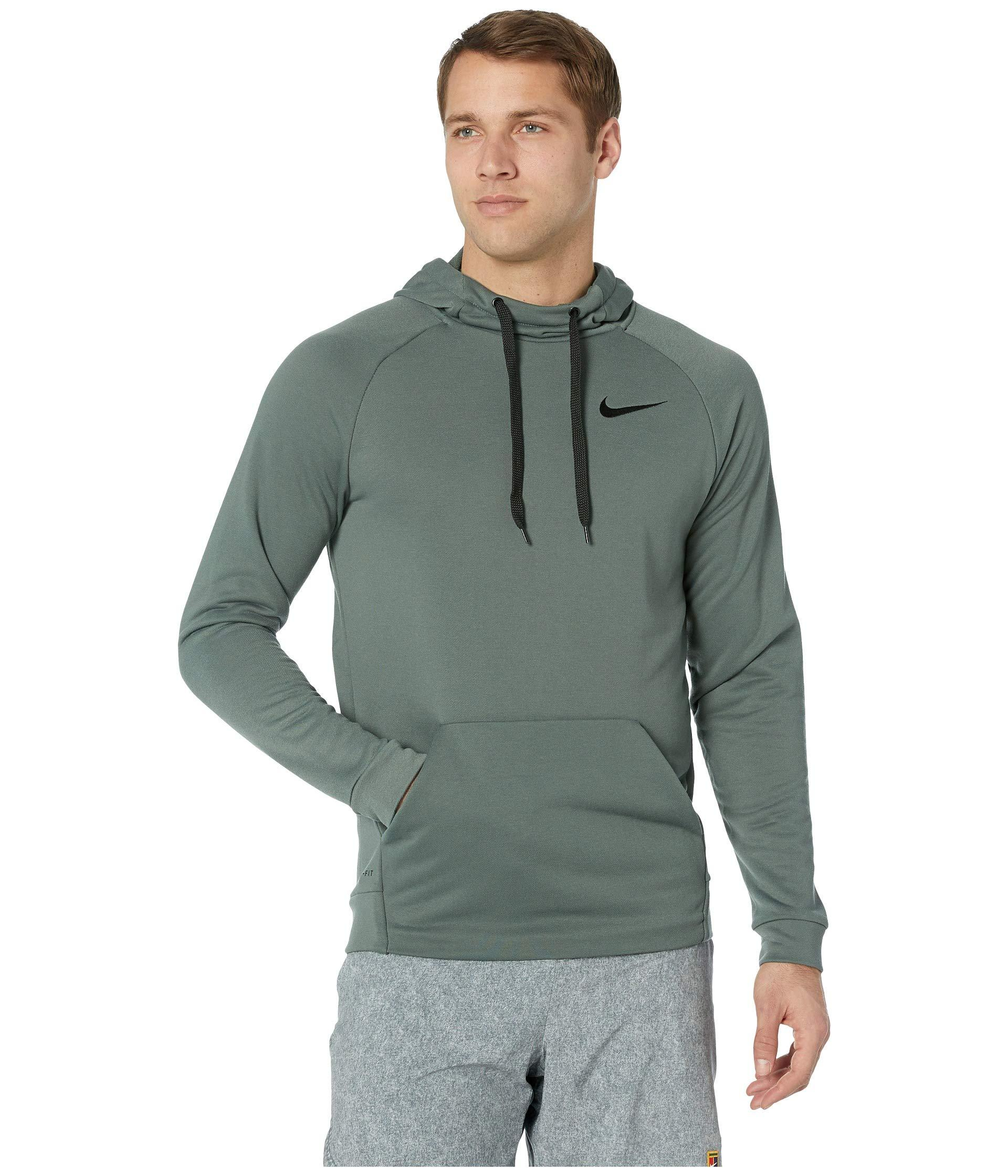 c66ded1746e4 Lyst - Nike Dry Training Pullover Hoodie in Green for Men
