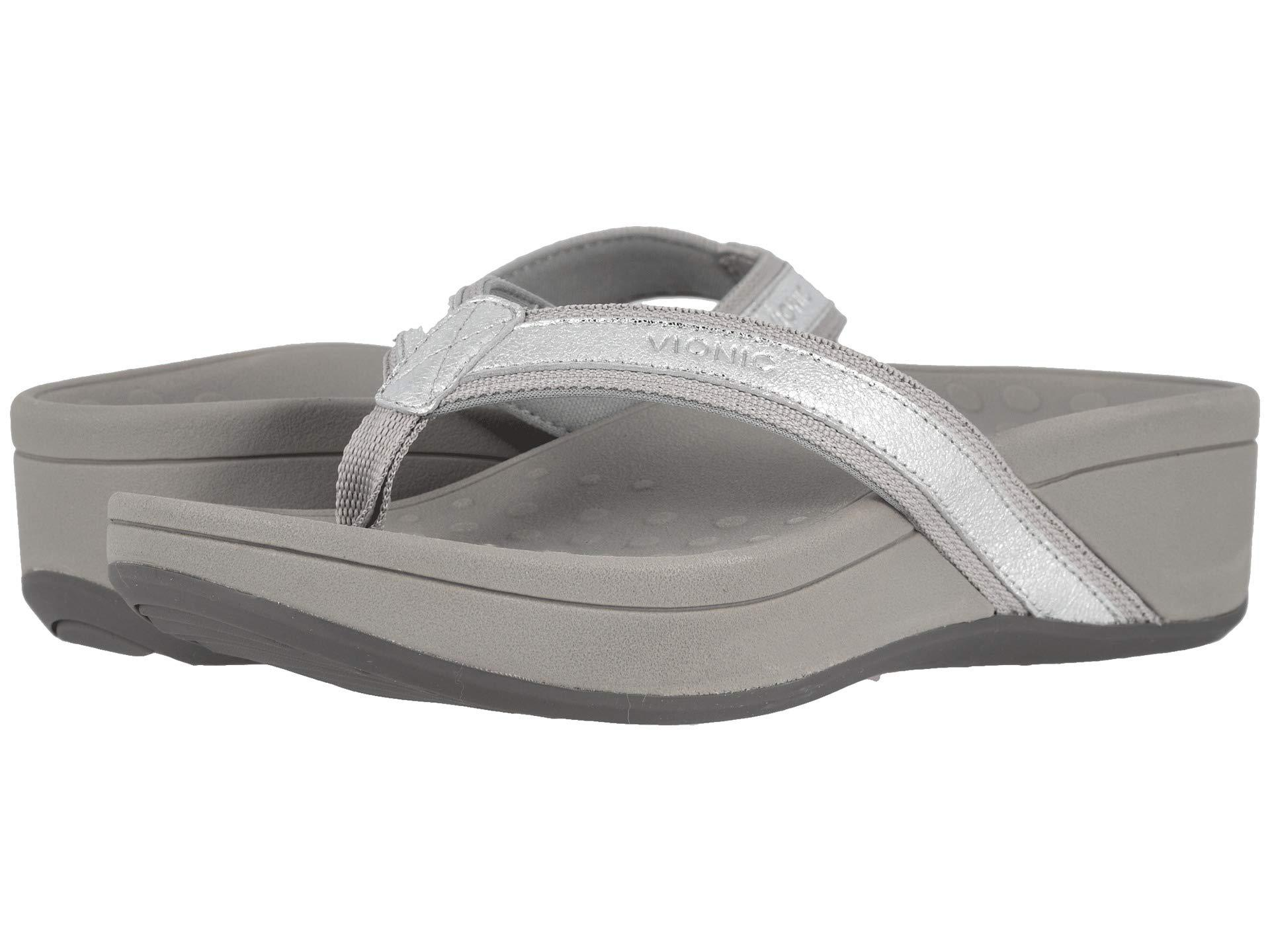 713dbe35391 Lyst - Vionic High Tide Metallic (silver) Women s Sandals in Metallic