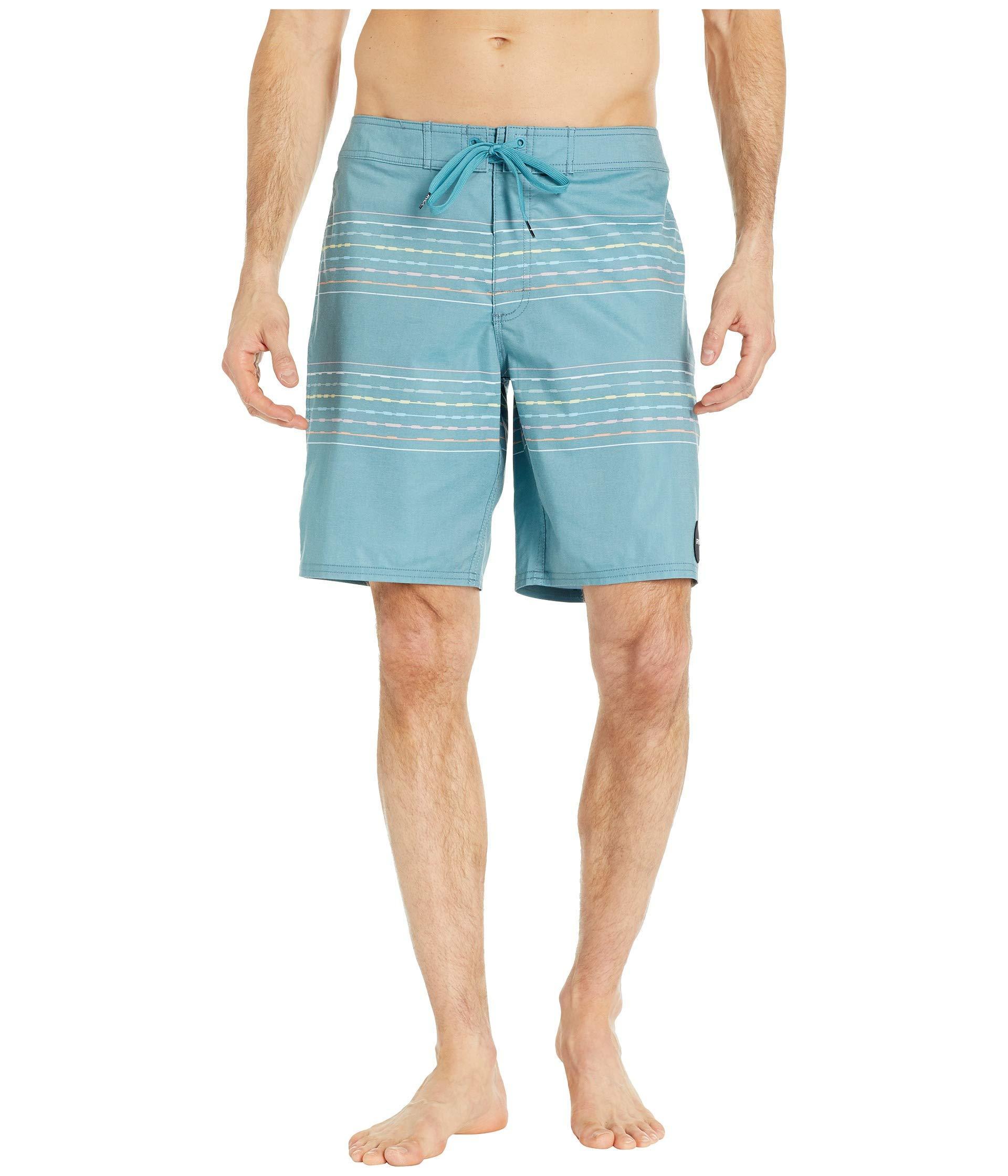 556e0ef176 Lyst - RVCA Double Vision Trunks (black) Men's Swimwear in Blue for Men