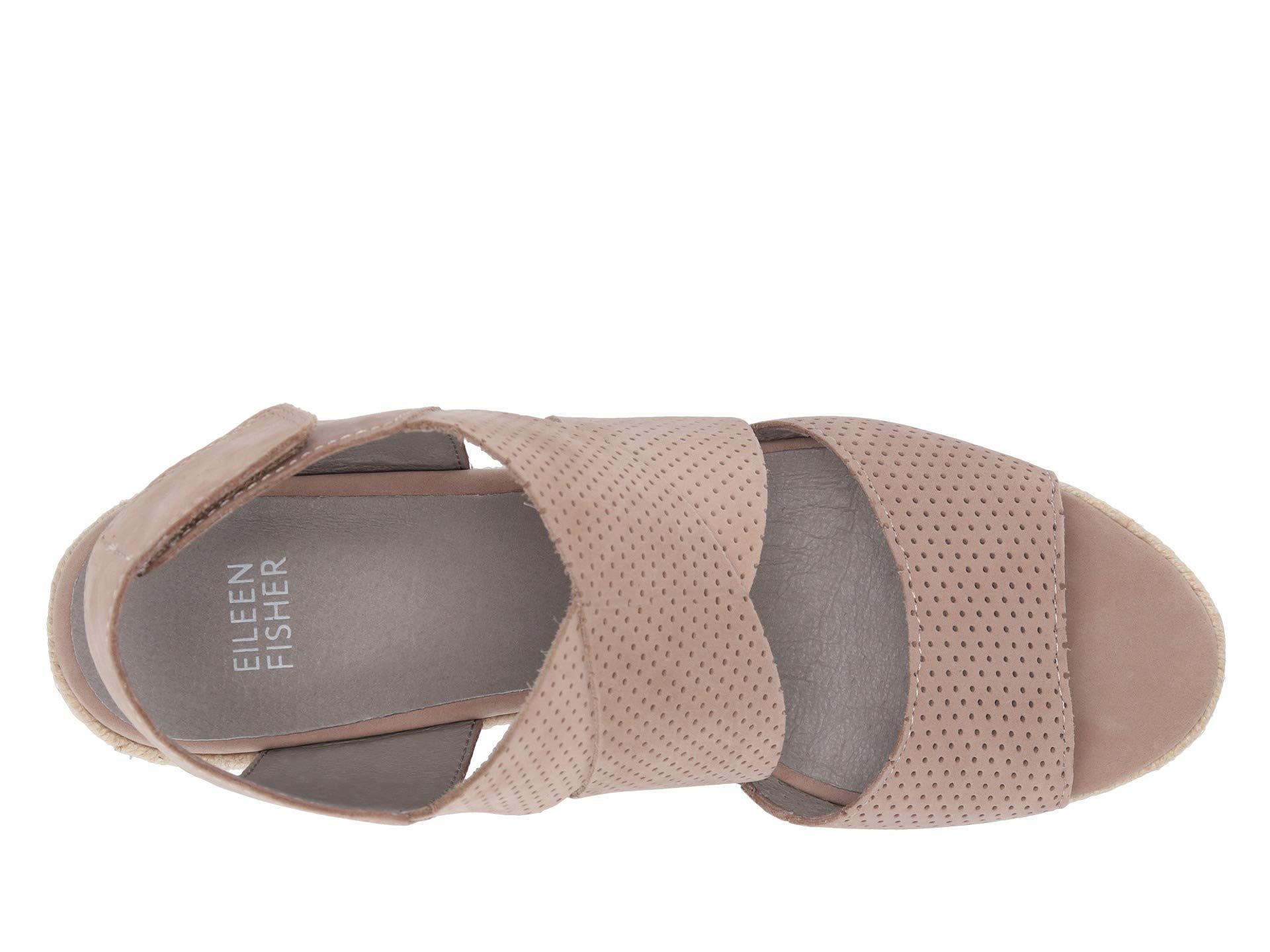 660c3733541 Eileen Fisher - Multicolor Willow 2 (earth Nubuck) Women s Wedge Shoes -  Lyst. View fullscreen