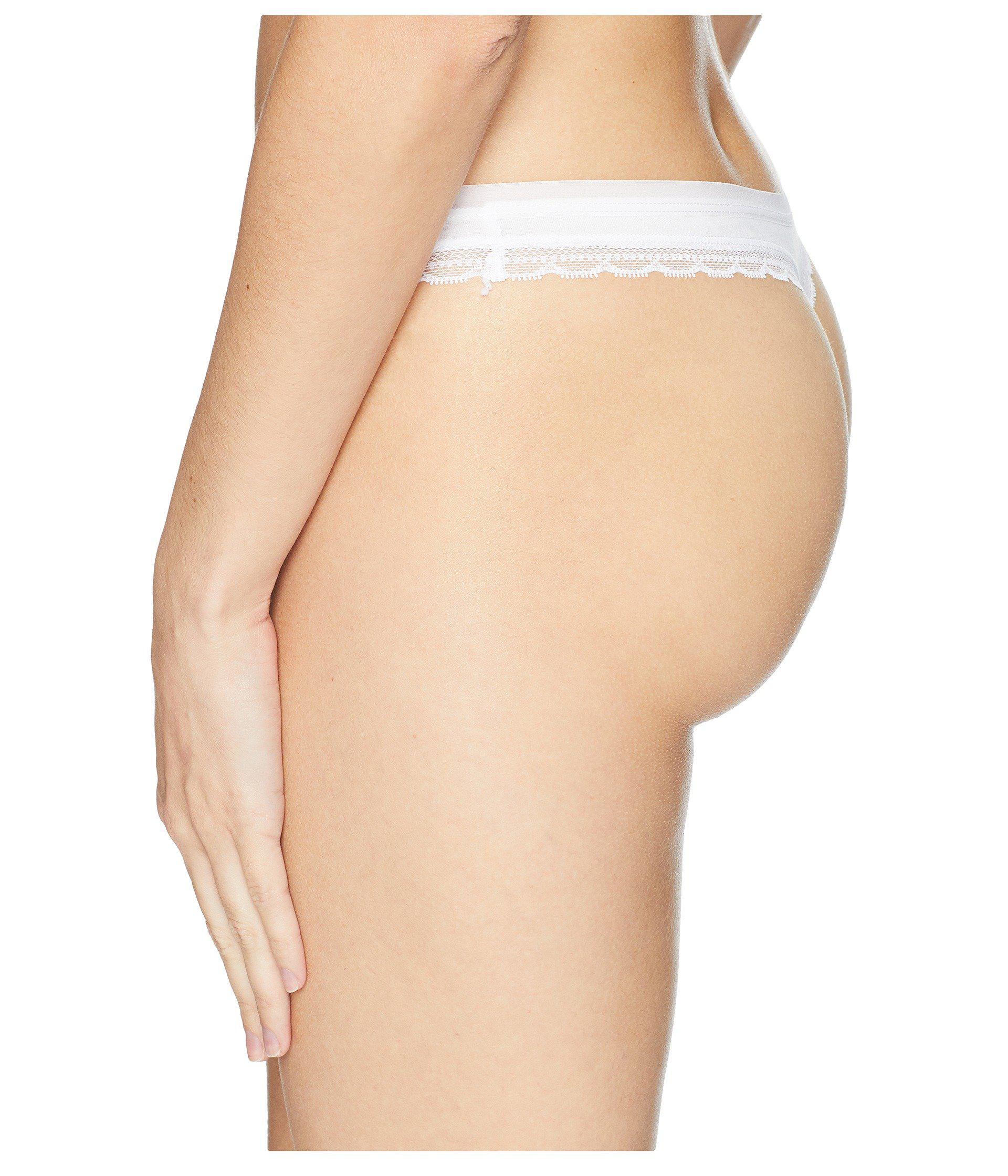 28a5340f0 On Gossamer - White Cabana Cotton Hip G Thong G2161 (heather Grey) Women s  Underwear. View fullscreen