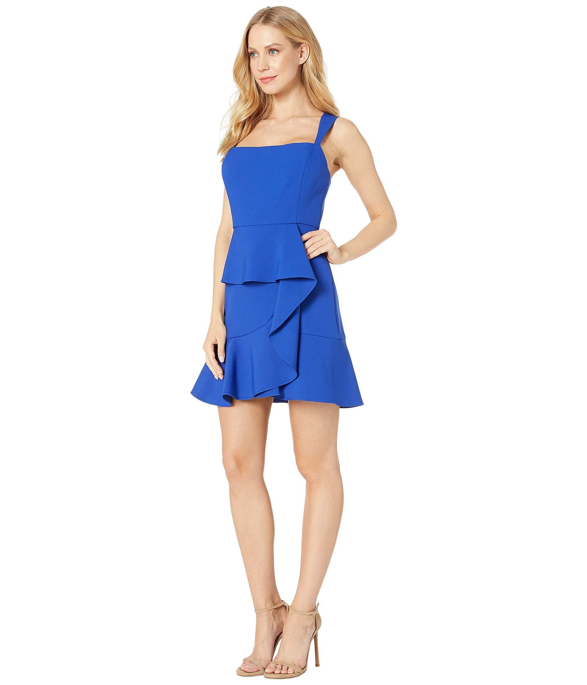 214b9ffdfe3 BCBGMAXAZRIA Woven Evening Dress (royal Blue) Women's Clothing in ...