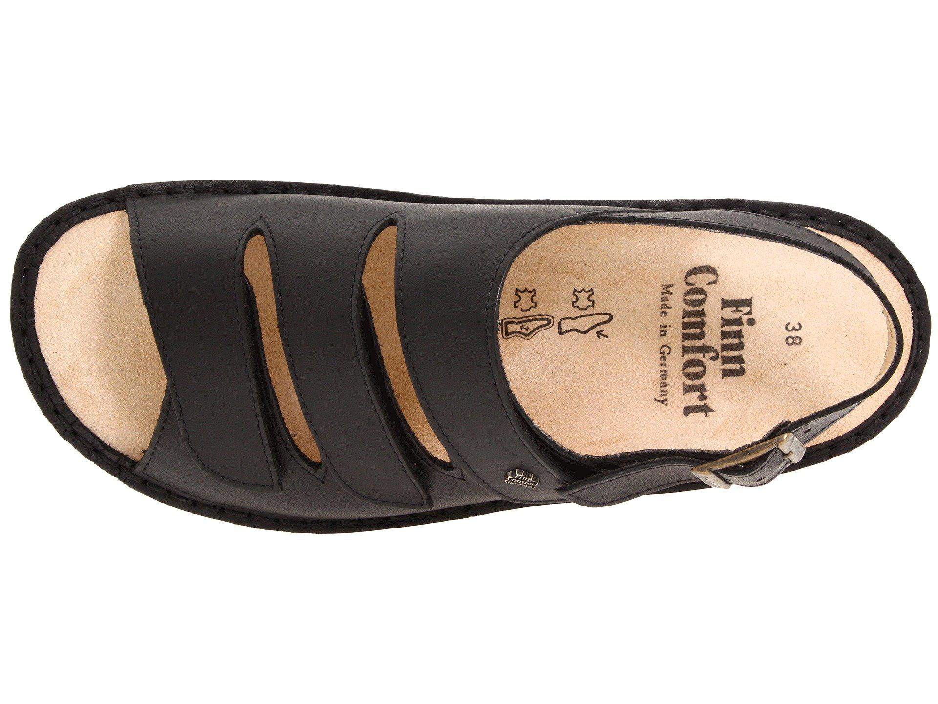 d7df67811d4a Finn Comfort - Sylt - 82509 (black Nappa Soft Footbed) Women s Shoes -  Lyst. View fullscreen