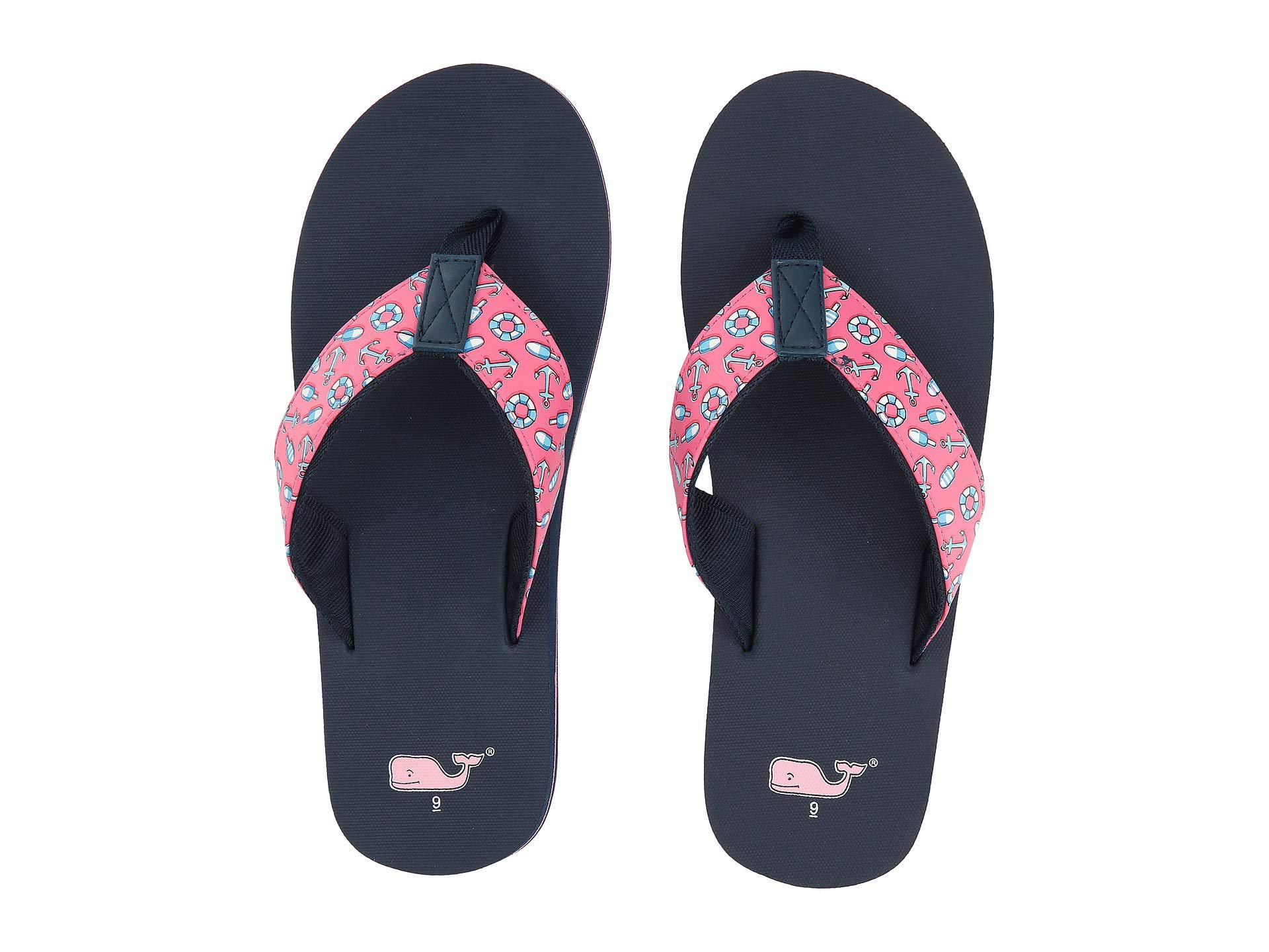 1aa2f6e6 Vineyard Vines Bouys Classic Flip-flop (lobster Reef) Women's Shoes ...