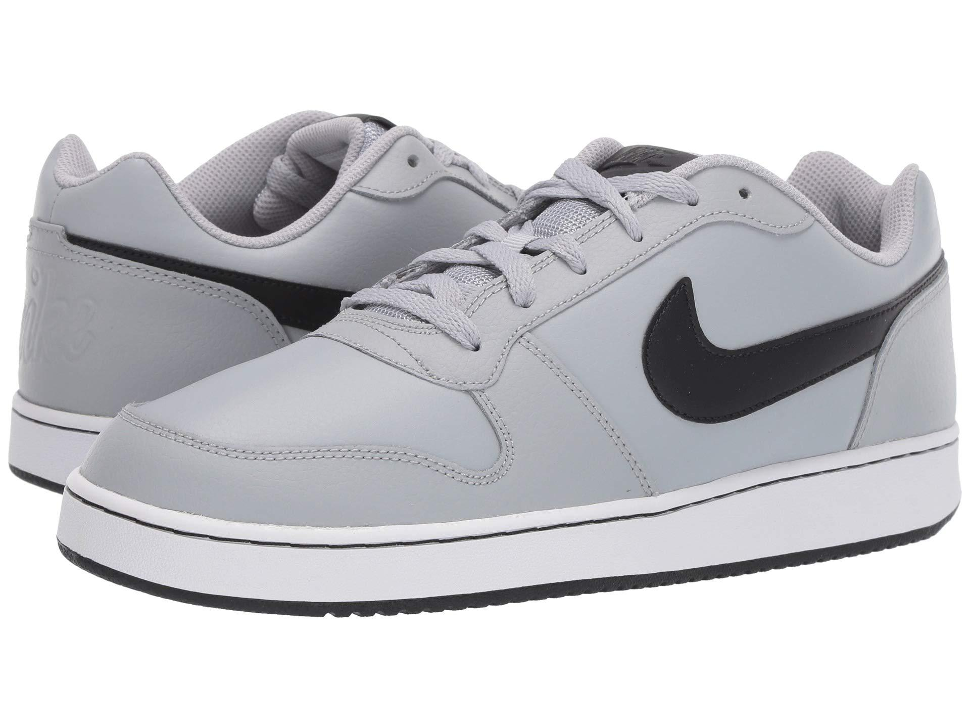 662aa96ce35 Lyst - Nike Ebernon Low (wolf Grey black white) Men s Shoes in Gray ...