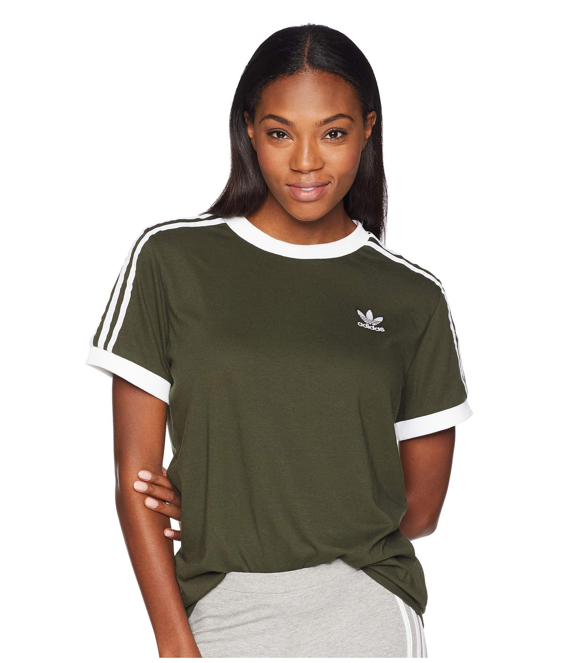 5b1c0f273 adidas Originals 3 Stripes Tee (trace Maroon) Women's T Shirt in ...