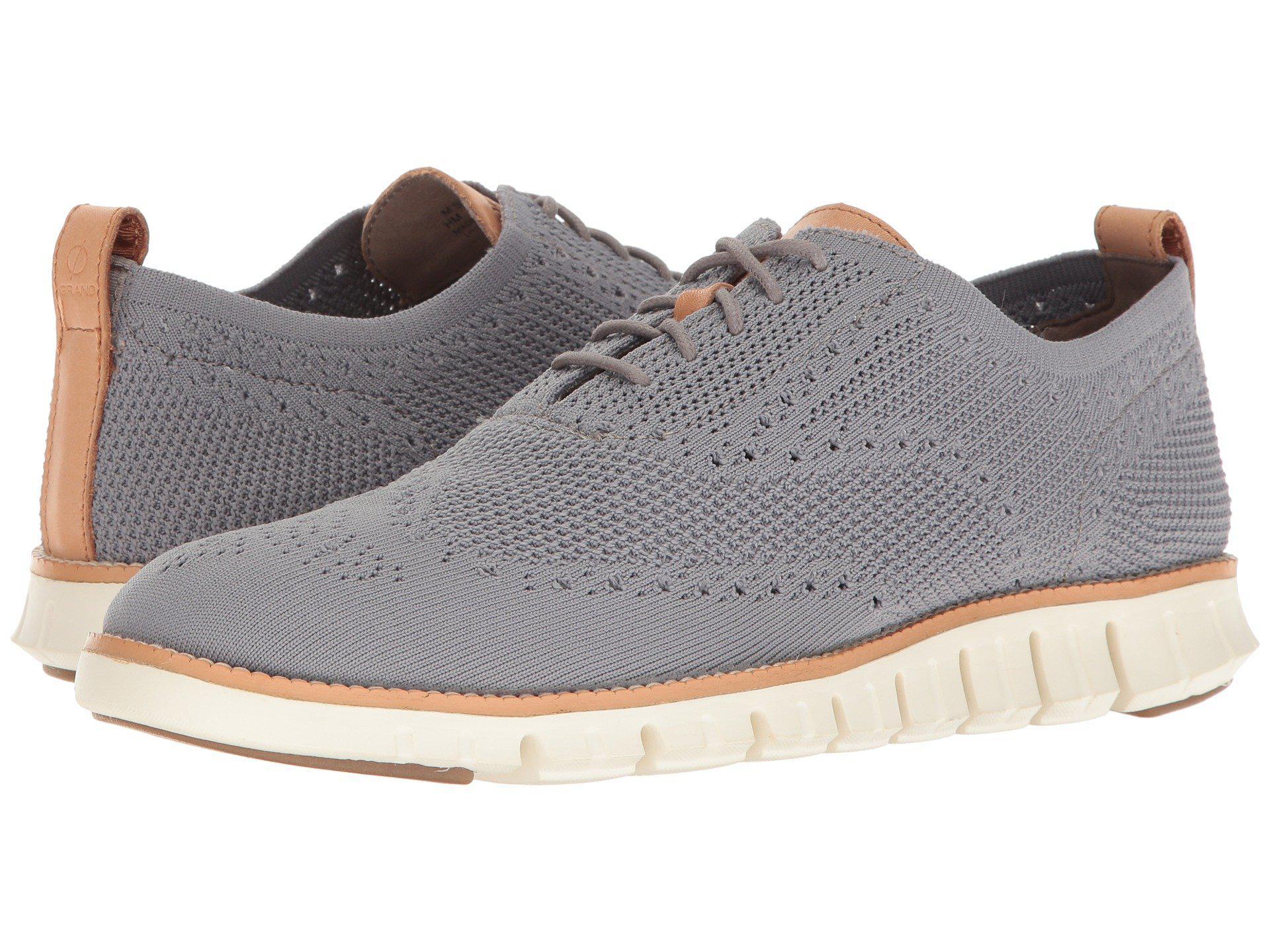 712978467e1004 Cole Haan. Zerogrand Stitchlite Oxford (optic White white) Men s Plain Toe  Shoes