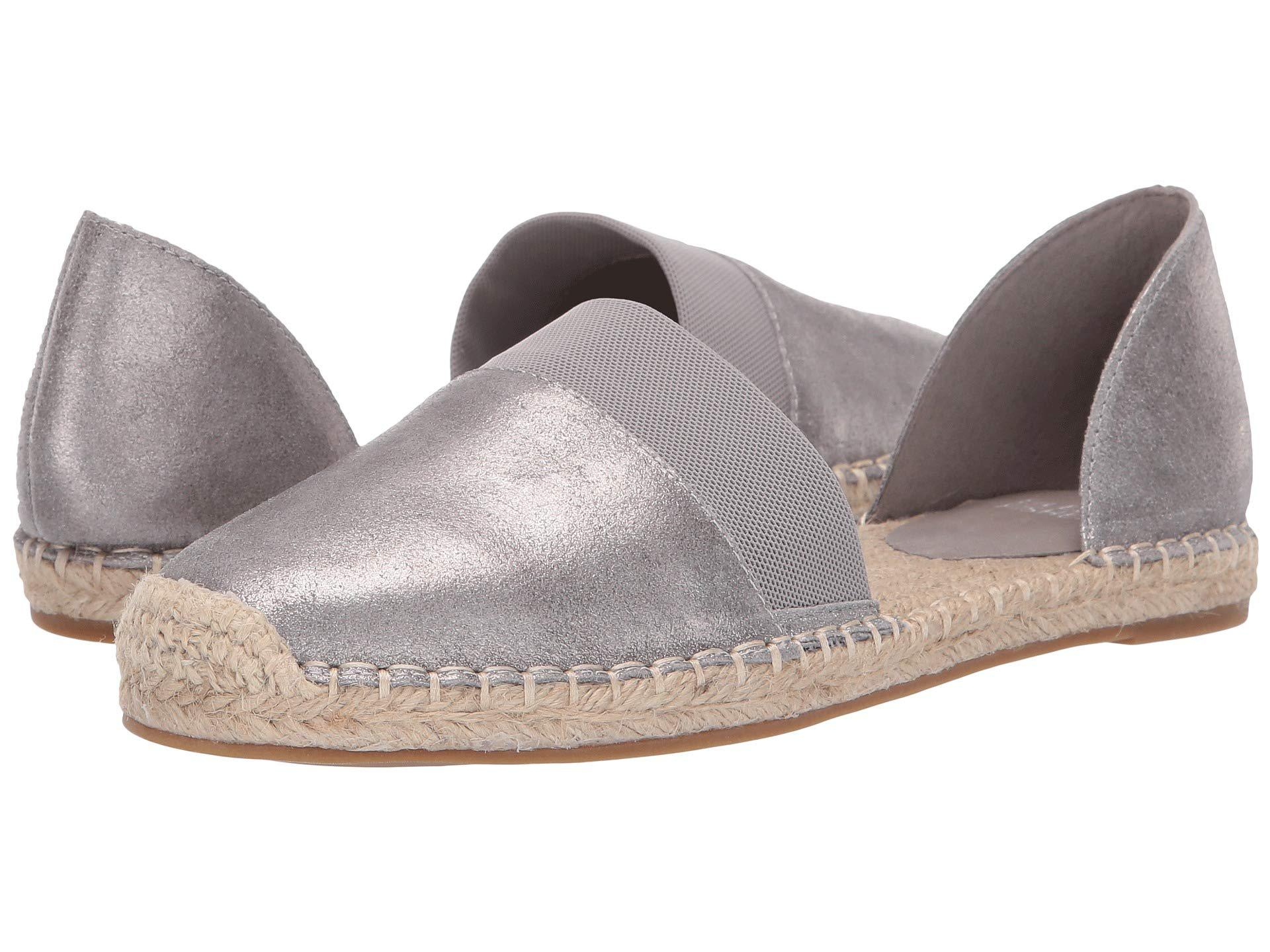 733e7e9b0b4 Lyst - Eileen Fisher Lady 2 (silver Frozen Metallic Suede) Women s ...