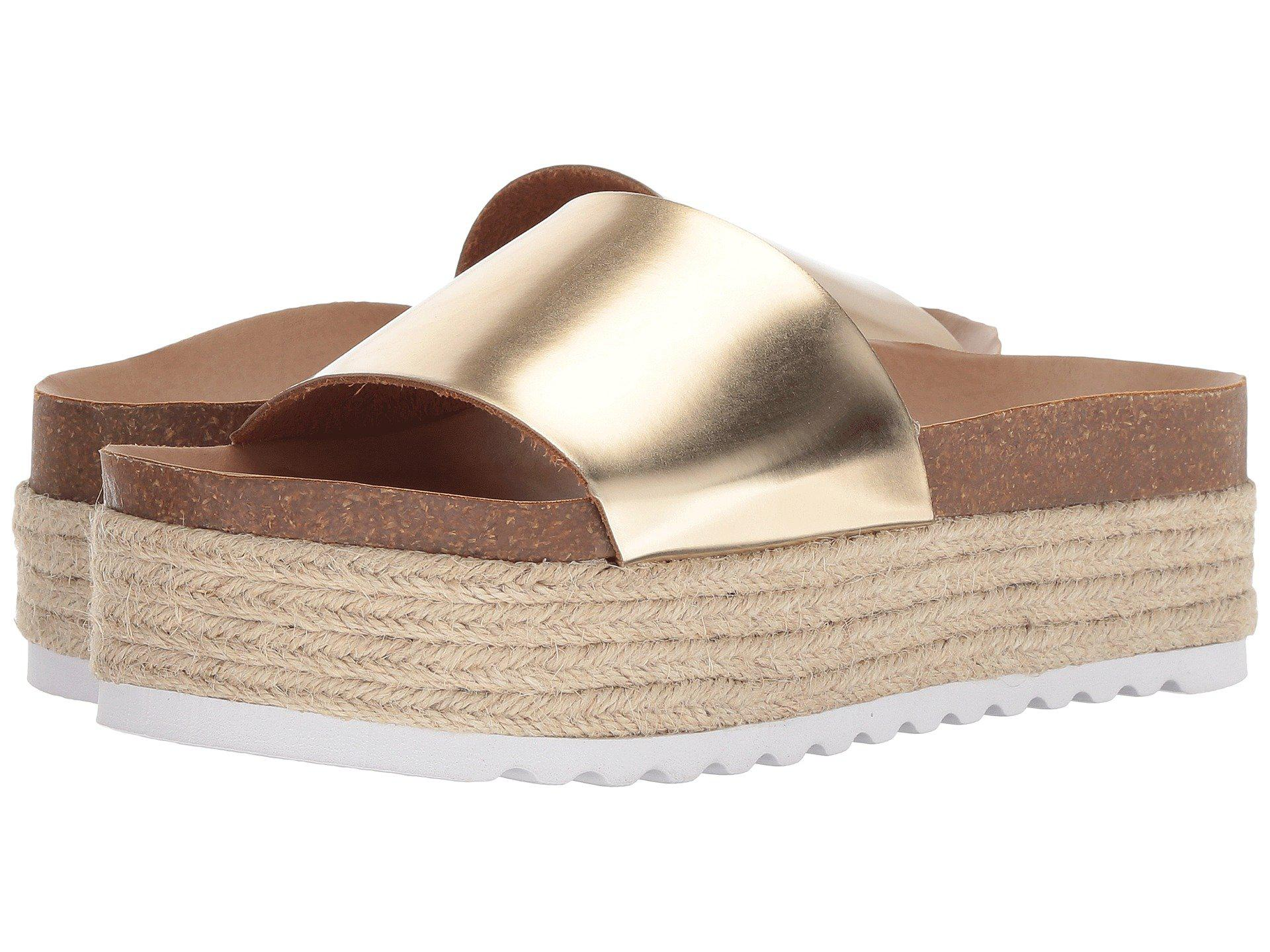 1654e979dd61 Lyst - Dirty Laundry Pippa (gold Metallic) Women s Sandals in ...