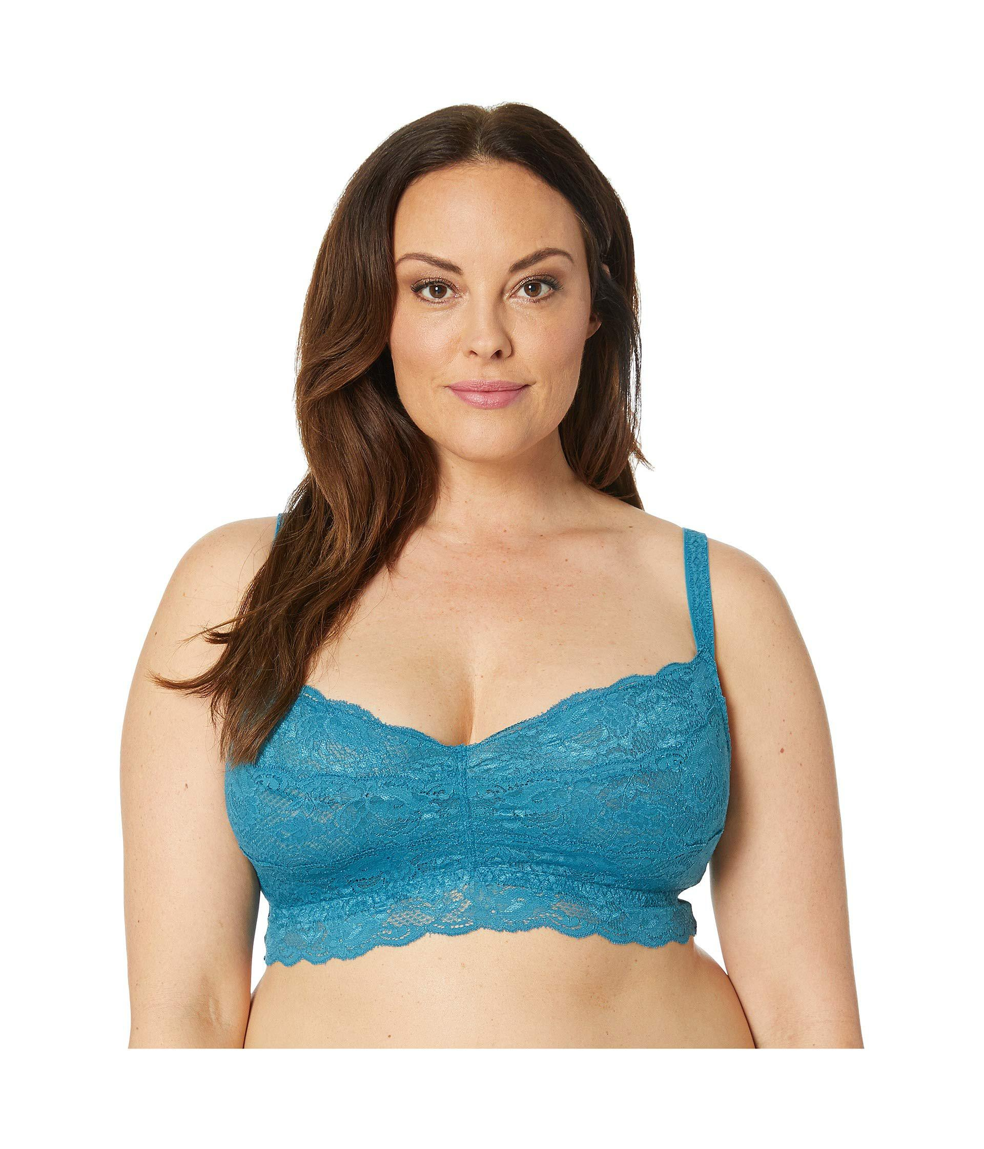9bd6df6a1c7f7 Lyst - Cosabella Plus Size Never Say Never Sweetie Soft Bra ...