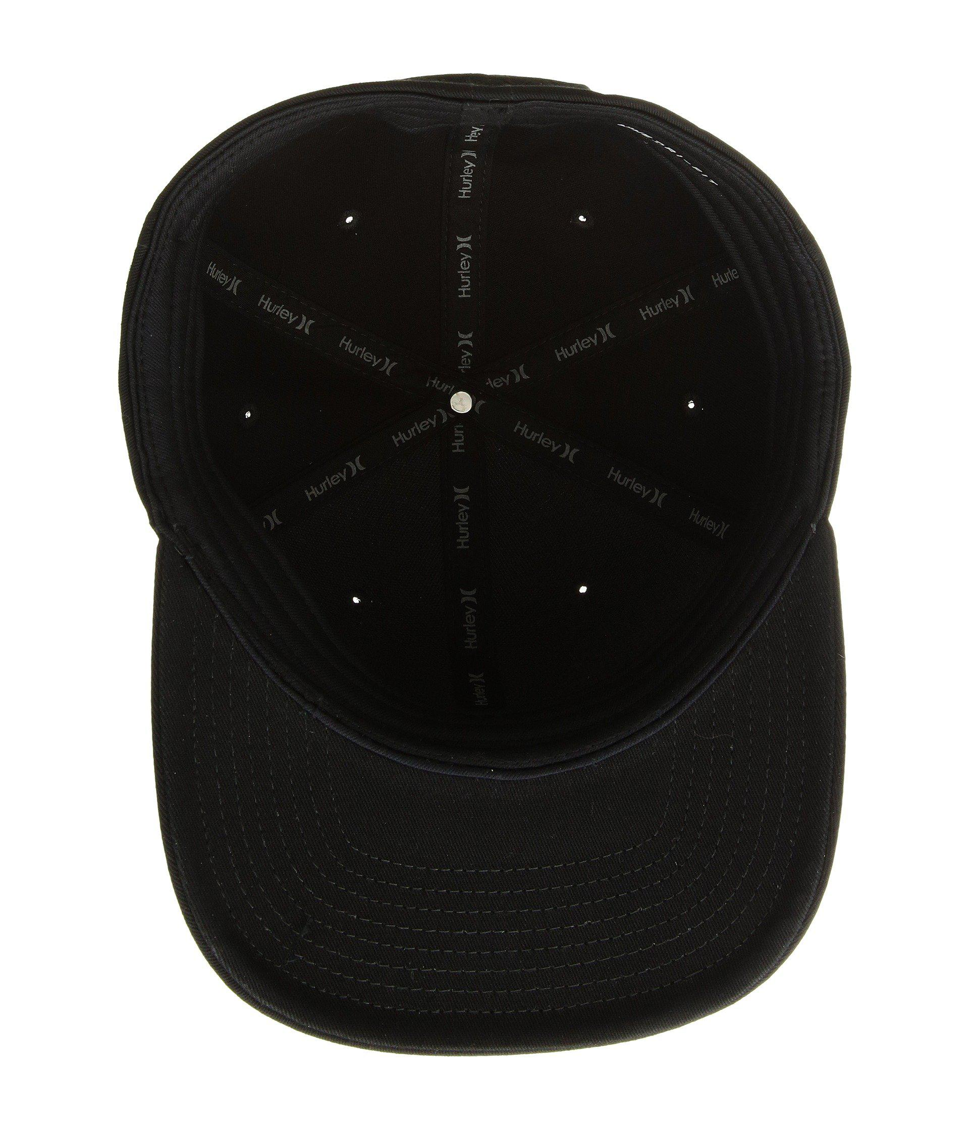 buy popular 010ac 18084 ... cheap lyst hurley santa barbara hat black caps in black for men 56626  de201