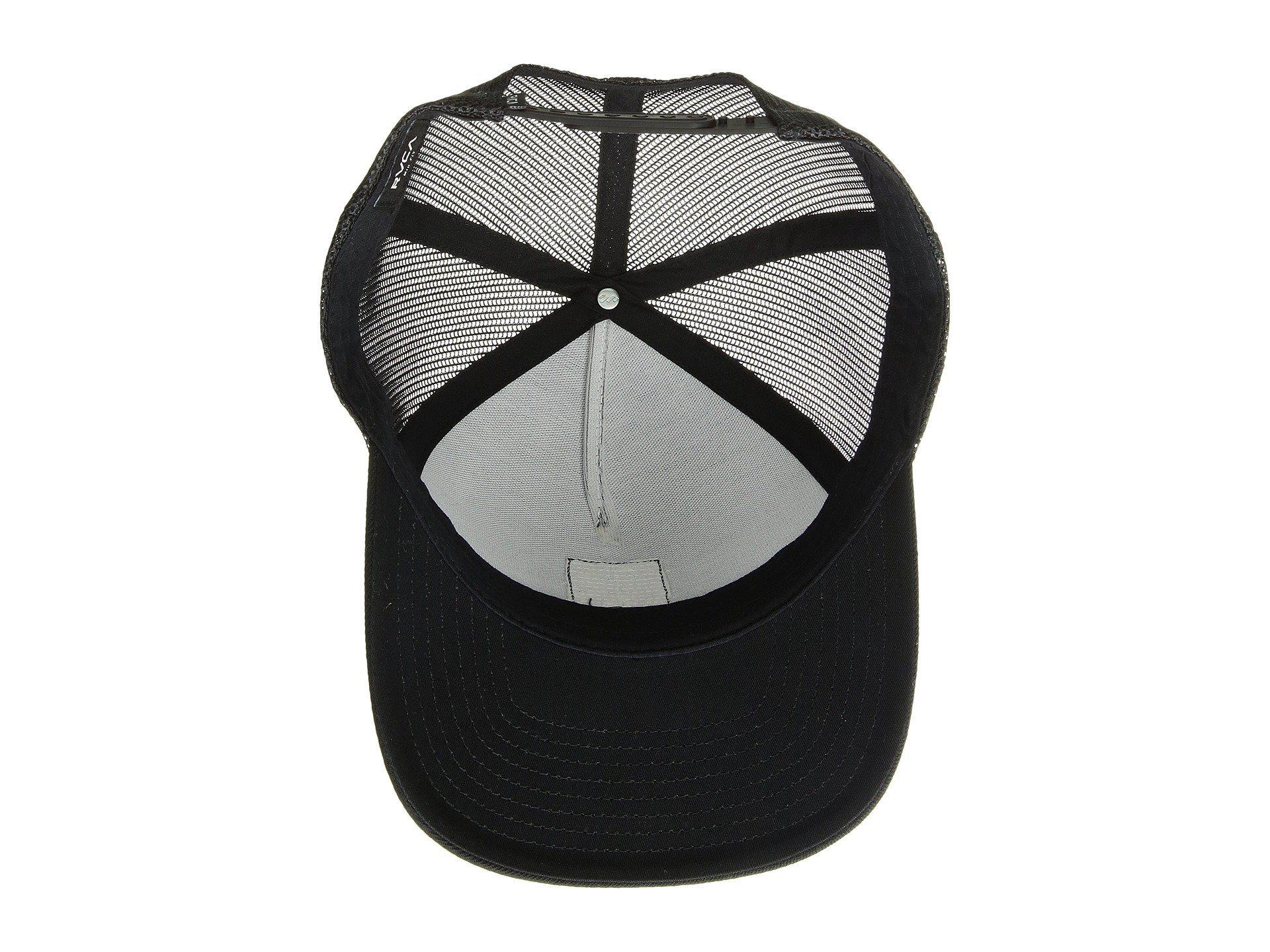 9a769c821e1 RVCA - Va All The Way Curve (black) Caps for Men - Lyst. View fullscreen