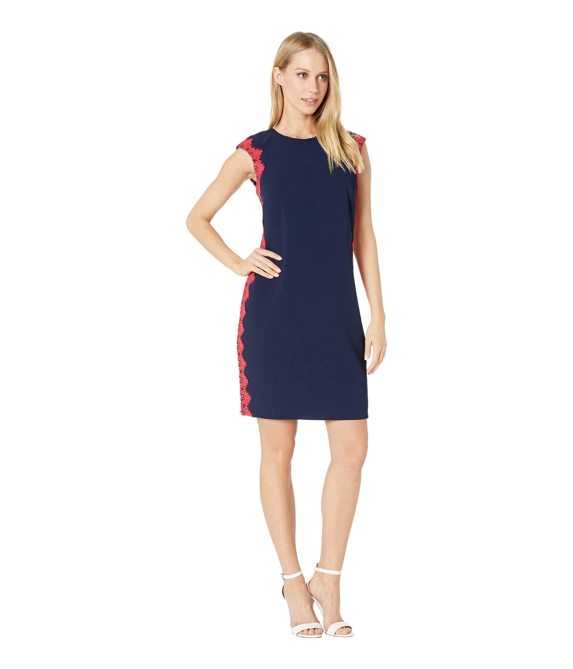 Lyst - Trina Turk Whim Dress (indigo) Women s Dress in Blue 033797ba9