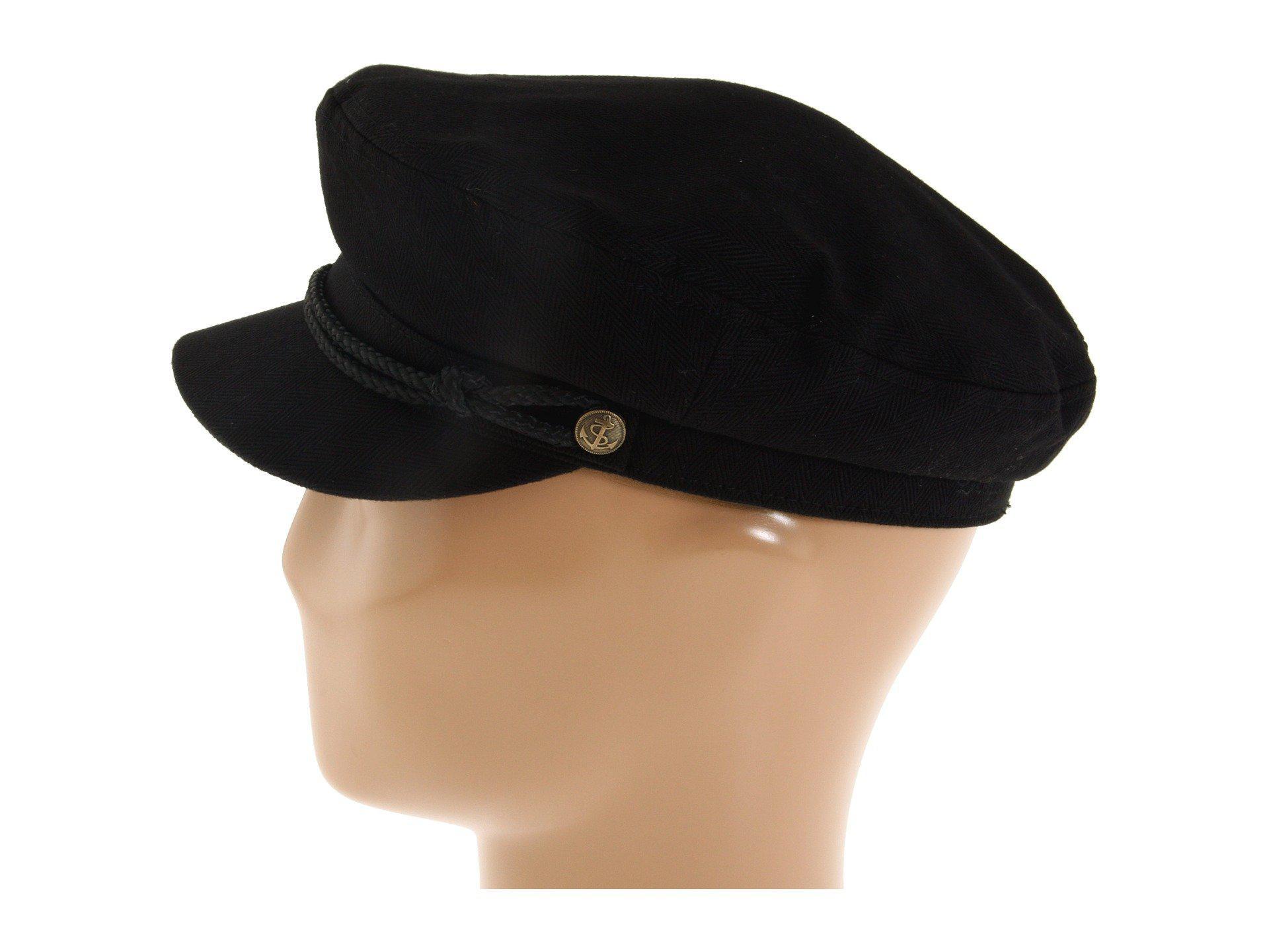 Brixton - Fiddler (black Herringbone Twill) Traditional Hats - Lyst. View  fullscreen 12bd60daa287