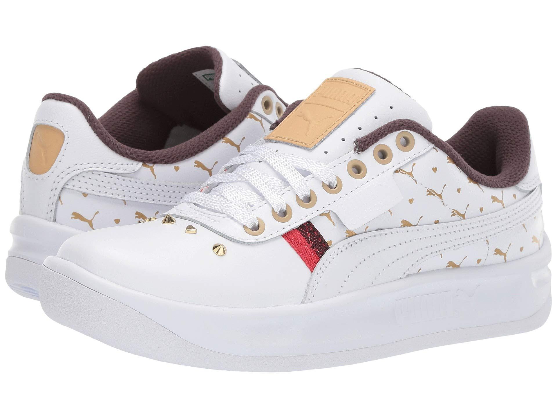 Lyst - PUMA California Studs ( White) Women s Shoes in White 3fe19e22b4