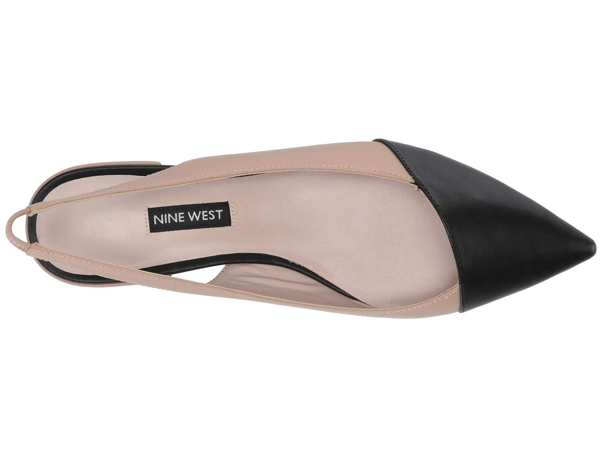 a09aca47e0a2 Lyst - Nine West Forlove Flat (black black) Women s Shoes in Black