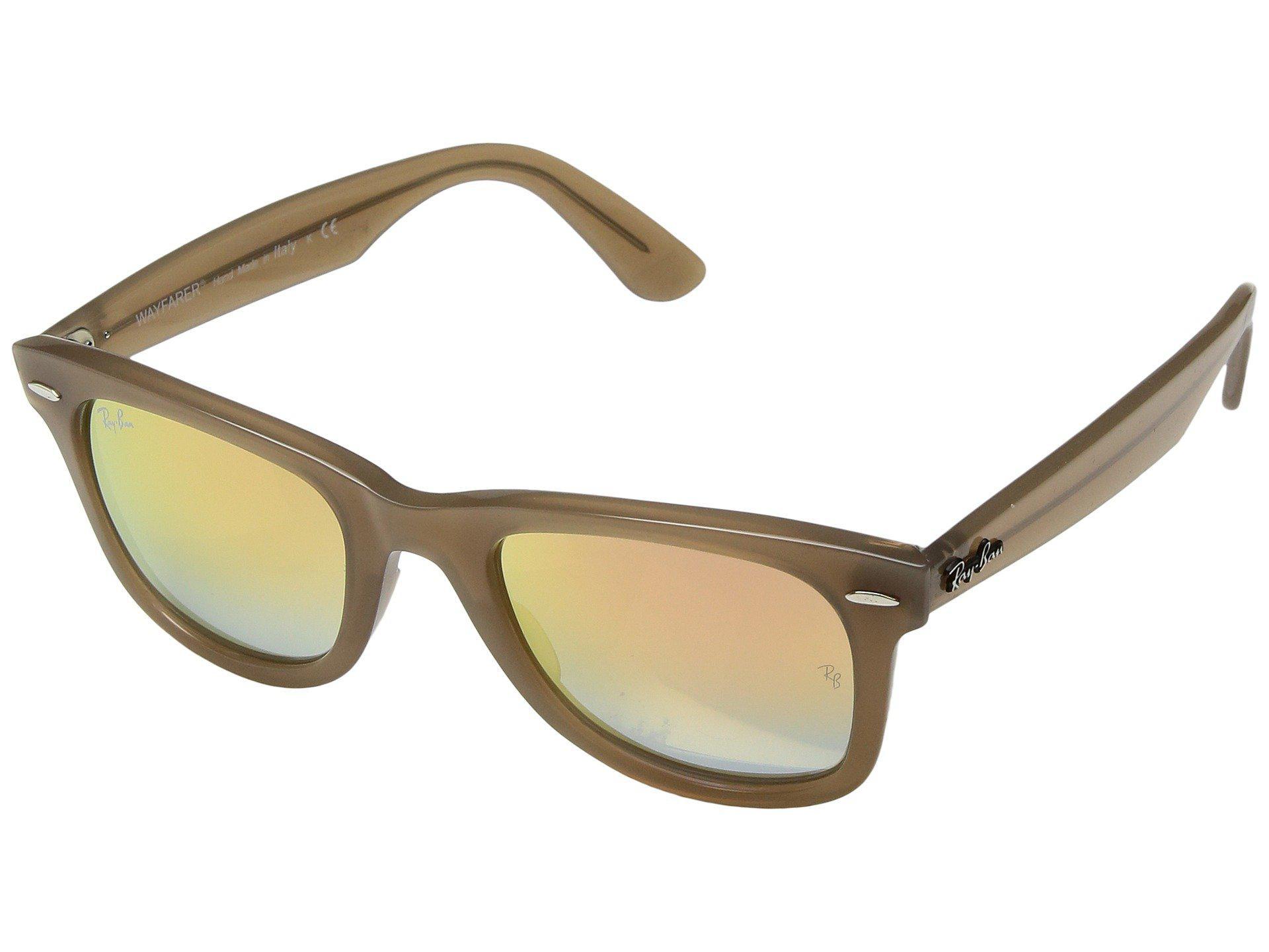 379c973f4ed Ray-Ban. Men s Brown Wayfarer Ease Rb4340 50mm (black polarized Green  Classic G-15) Fashion Sunglasses