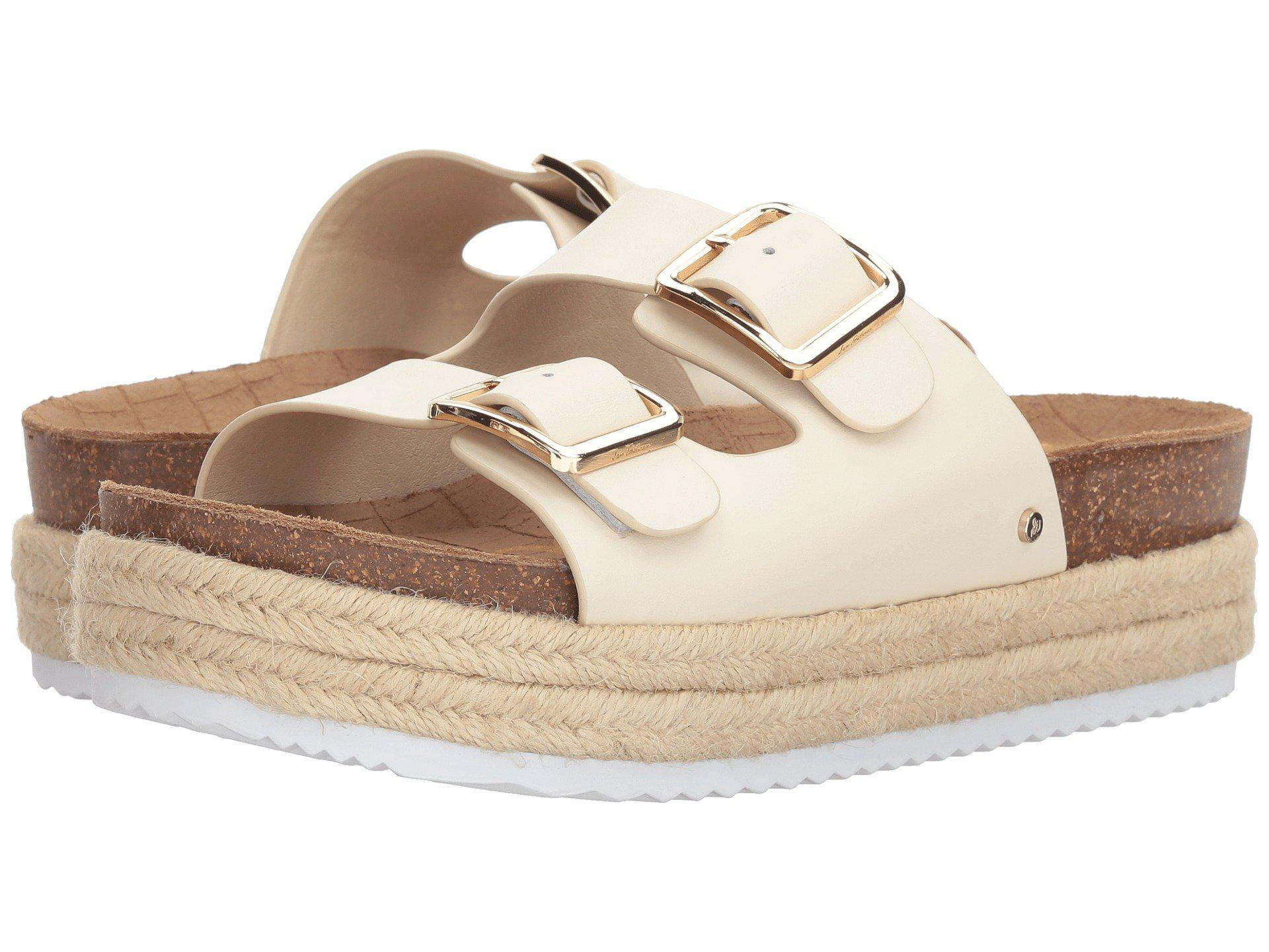 247f8fa682c Lyst - Sam Edelman Oakley (modern Ivory Modena Calf Leather) Women s ...
