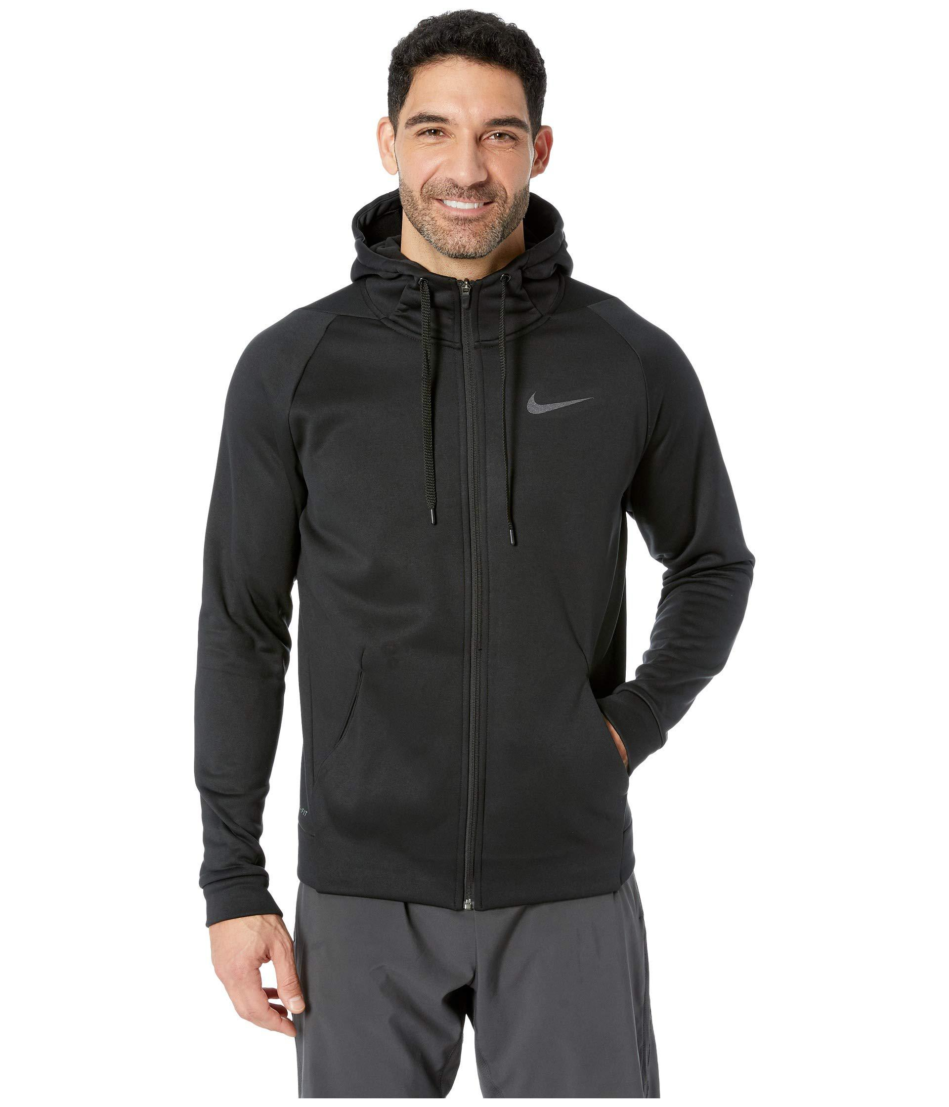 Lyst - Nike Dri-fit Therma Men s Full-zip Training Hoodie (charcoal ... ae07a8958325