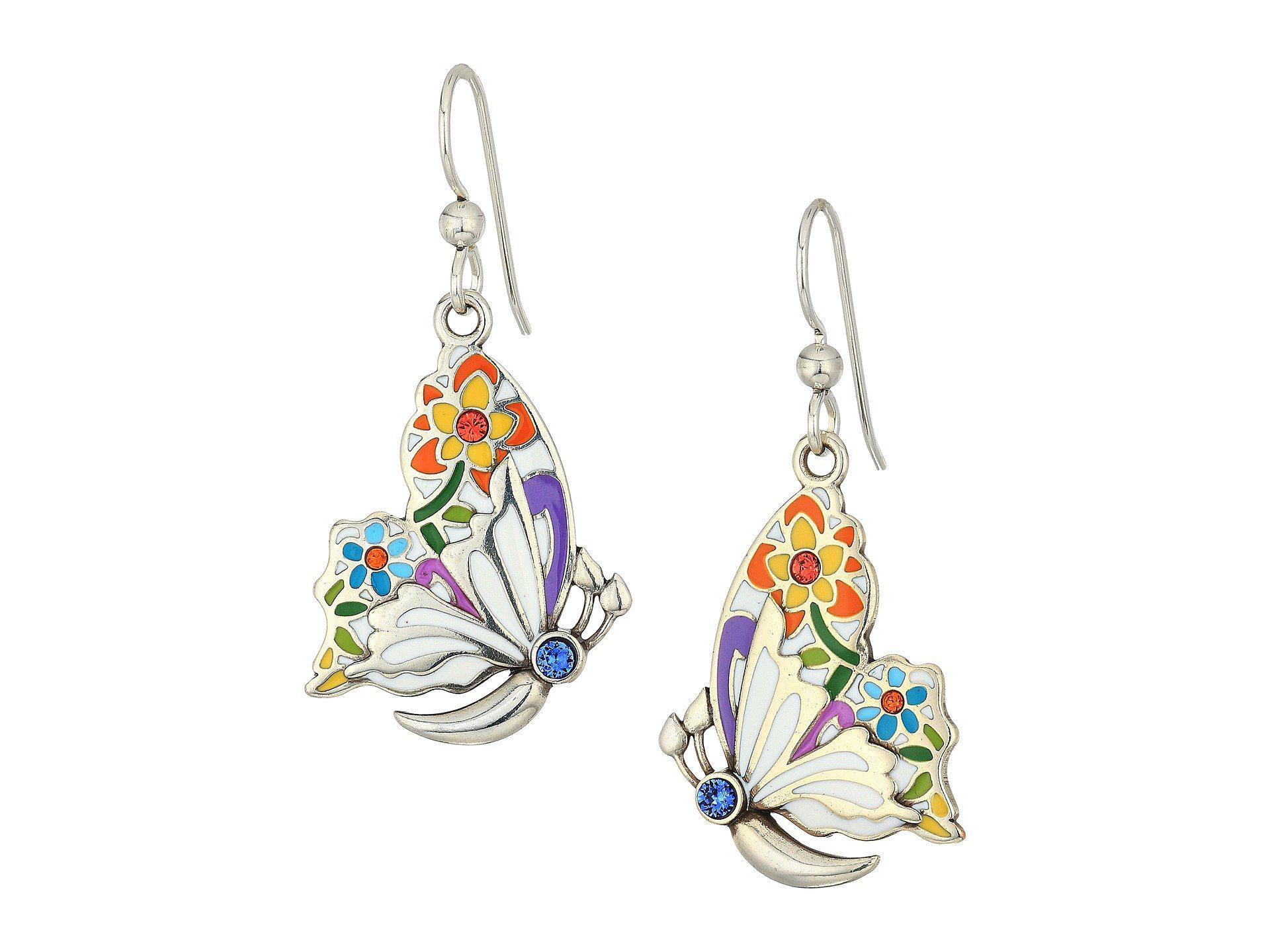 Brighton Belle Jardin French Wire Earrings - Lyst