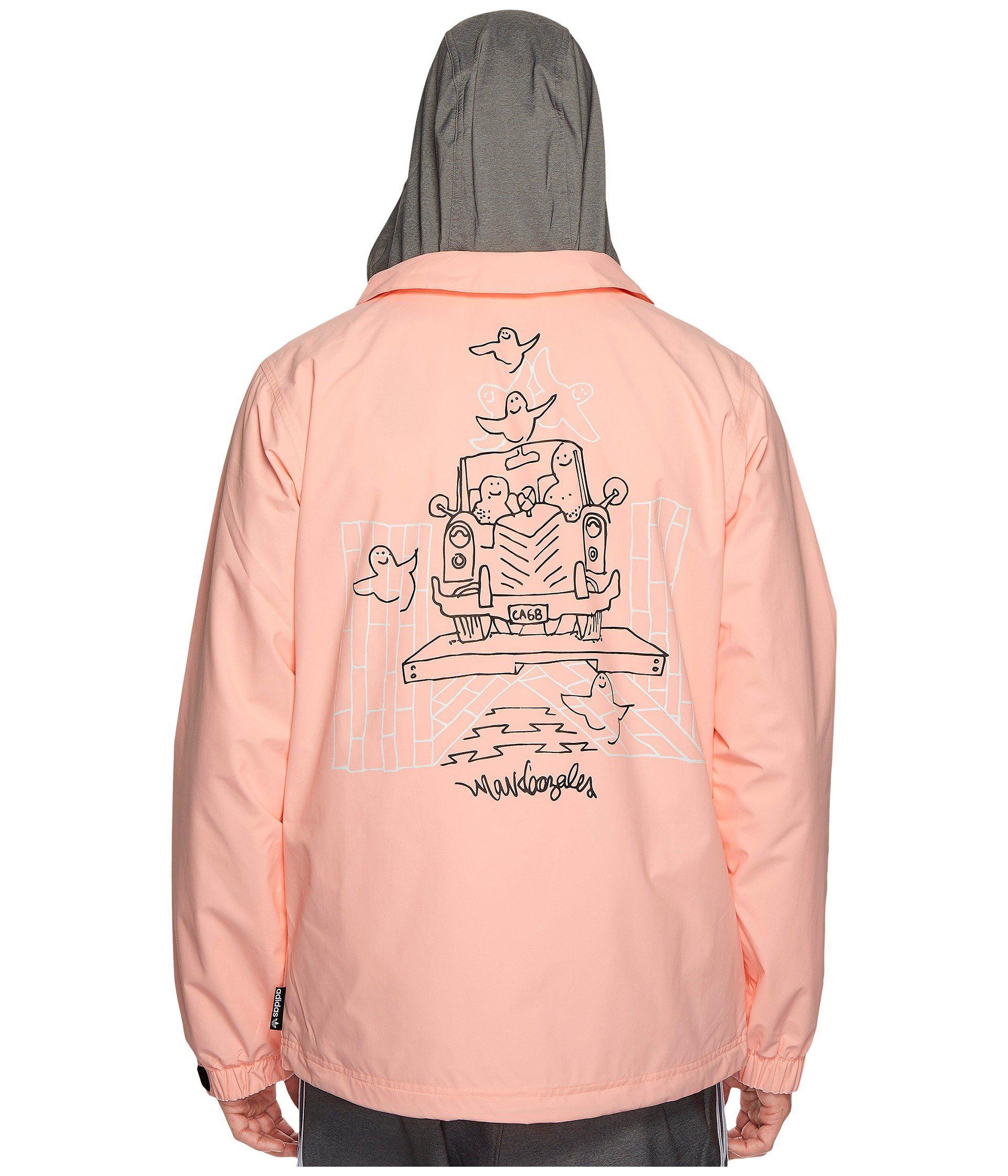 7bbbcd09630 Lyst - adidas Originals Civilian Gonz Jacket 2.0 in Pink for Men