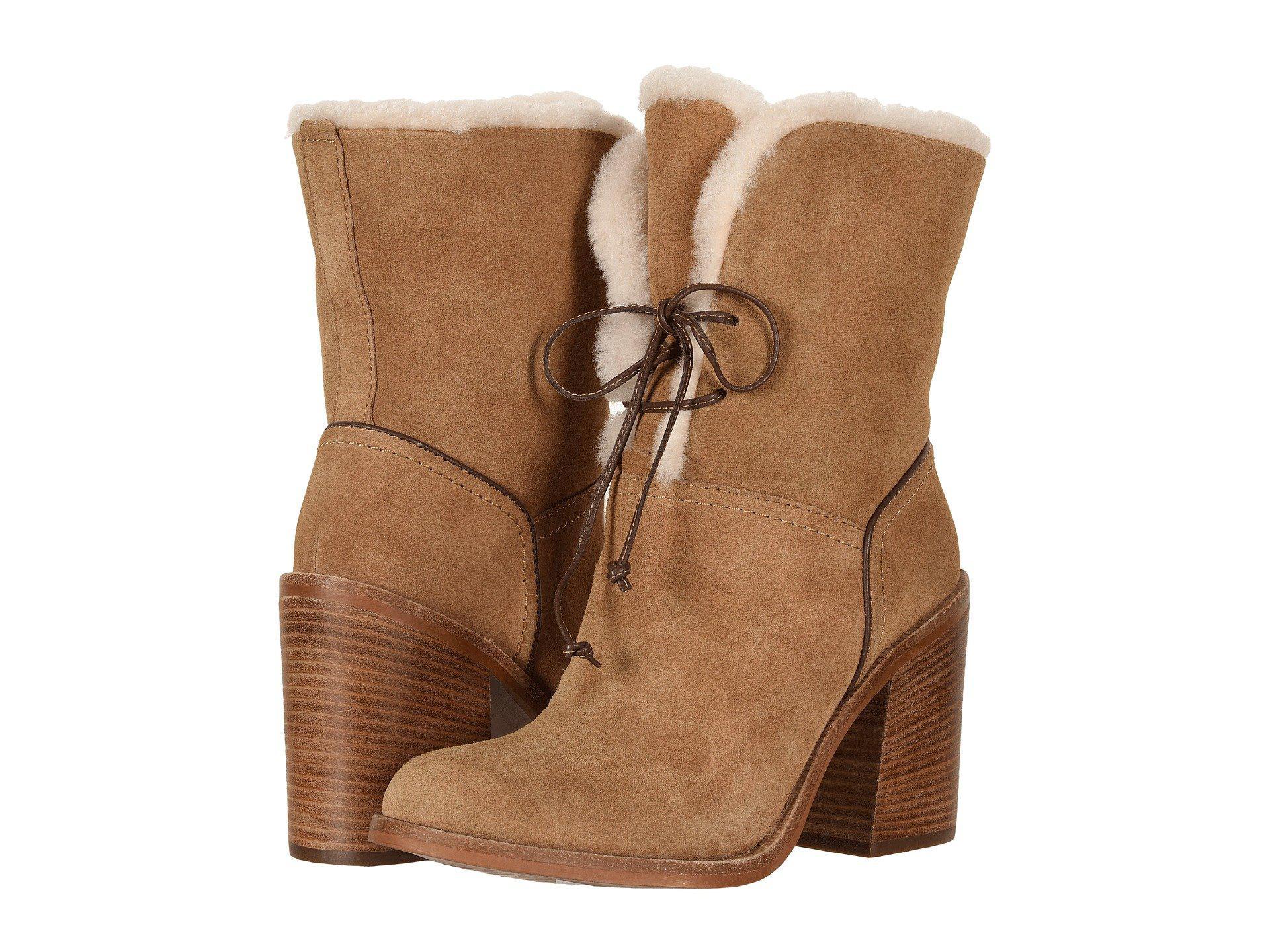 99455099138 UGG Jerene (chestnut 2) Women's Boots in Brown - Lyst