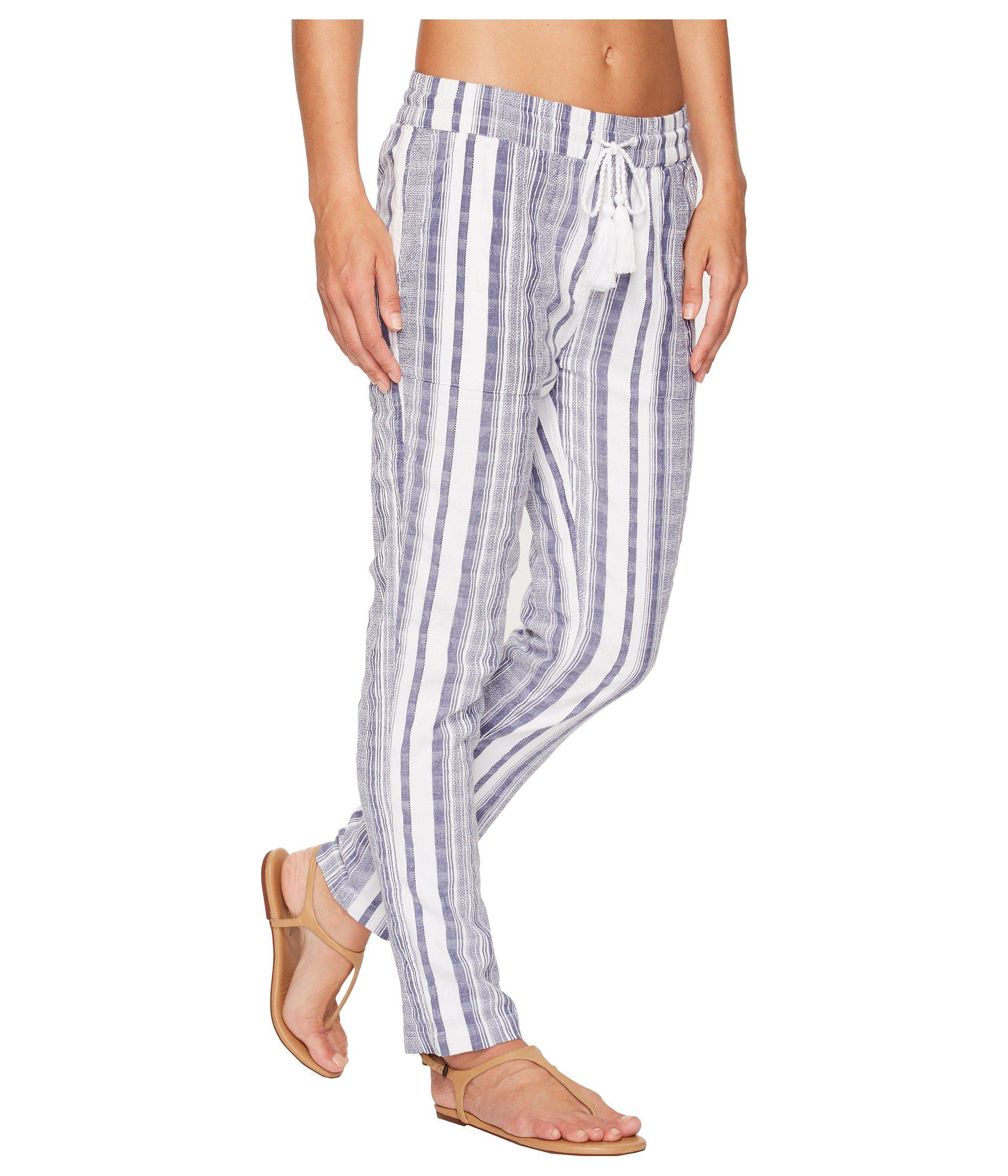 93307c51a8 Tommy Bahama Yarn Dye Stripe Beach Jogger Bottom Cover-up in White ...
