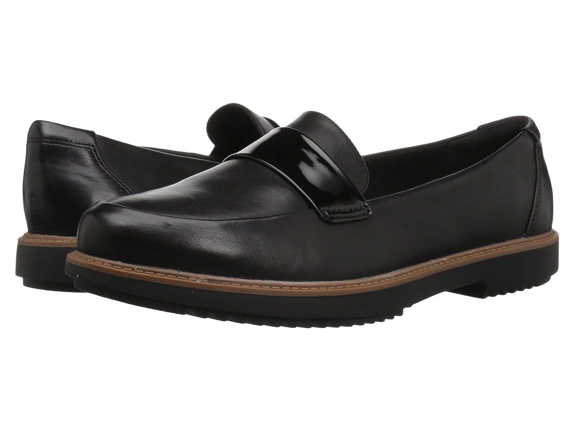 7f293edda10 Clarks - Raisie Arlie (black Leather) Women s Shoes - Lyst. View fullscreen
