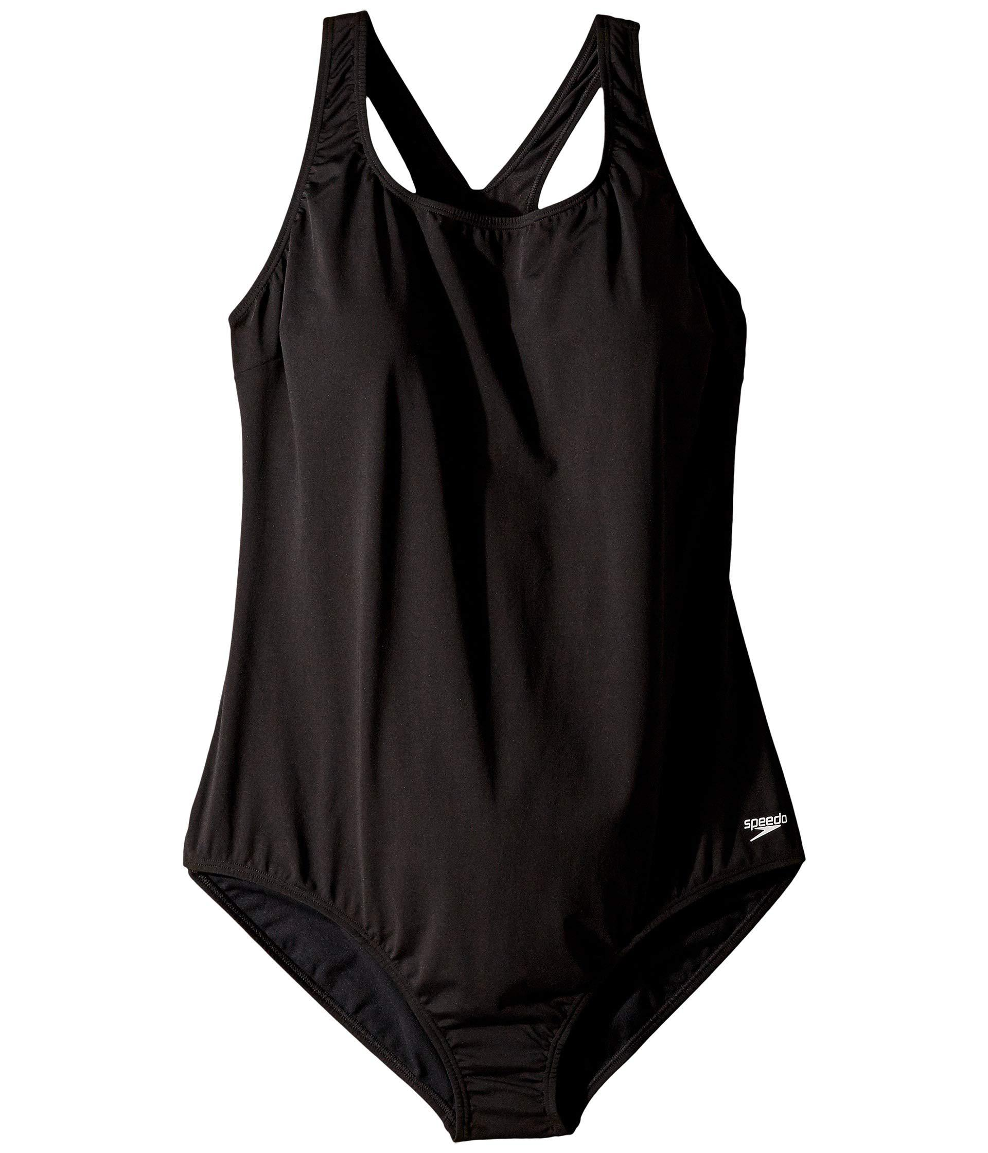 081a72c460892 Speedo - Plus Size Vanquisher Ultraback (black) Women s Swimsuits One Piece  - Lyst. View fullscreen