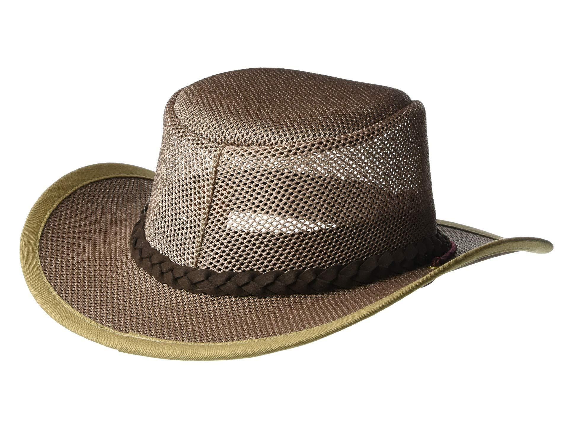 ce95eeb1bc012a Stetson - Multicolor Mesh Covered Nylon Safari (mushroom) Safari Hats for  Men - Lyst. View fullscreen