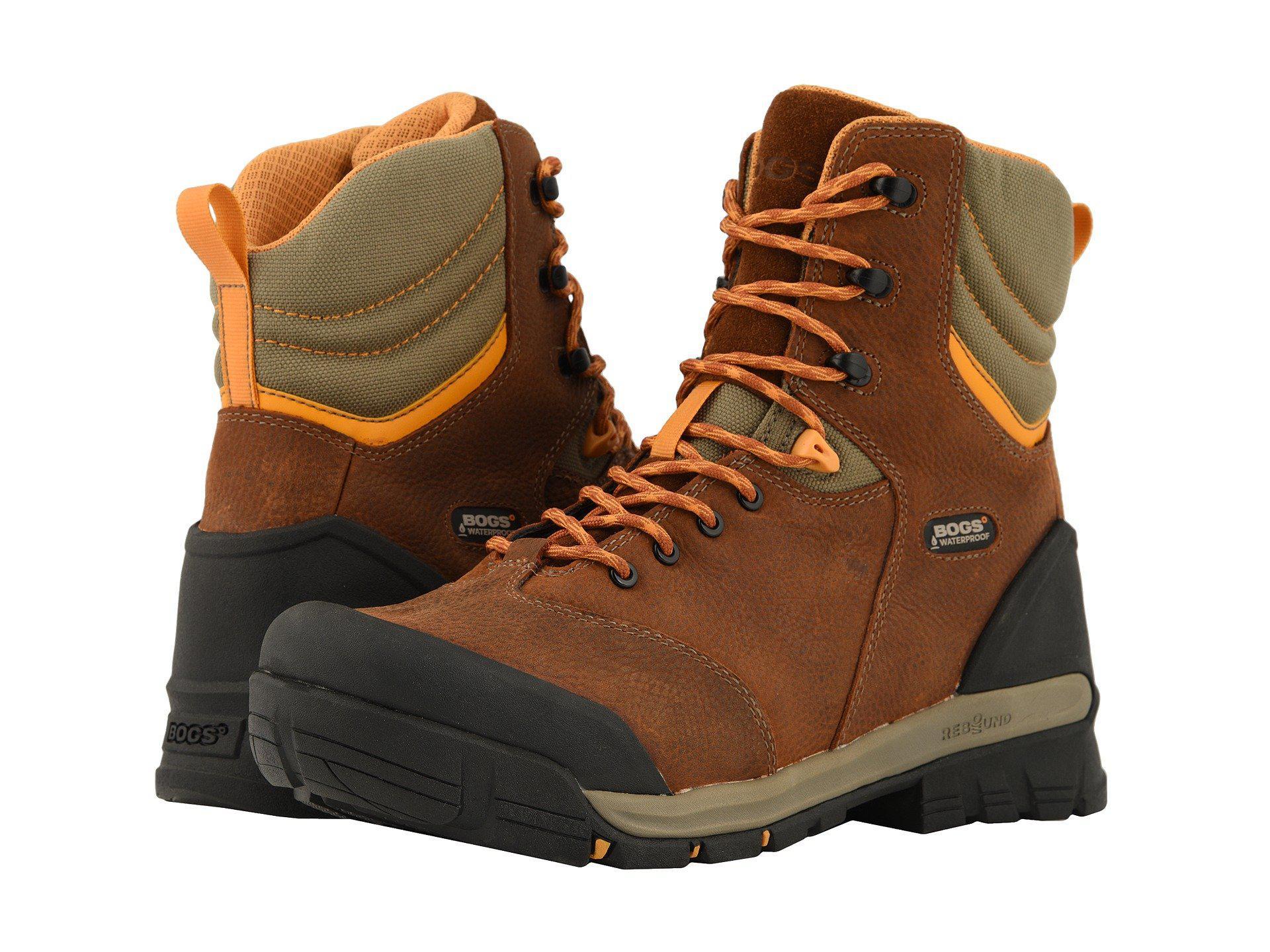 bd1147770ef Lyst - Bogs Bed Rock 8 Insulated Composite Toe (black Multi) Men's ...