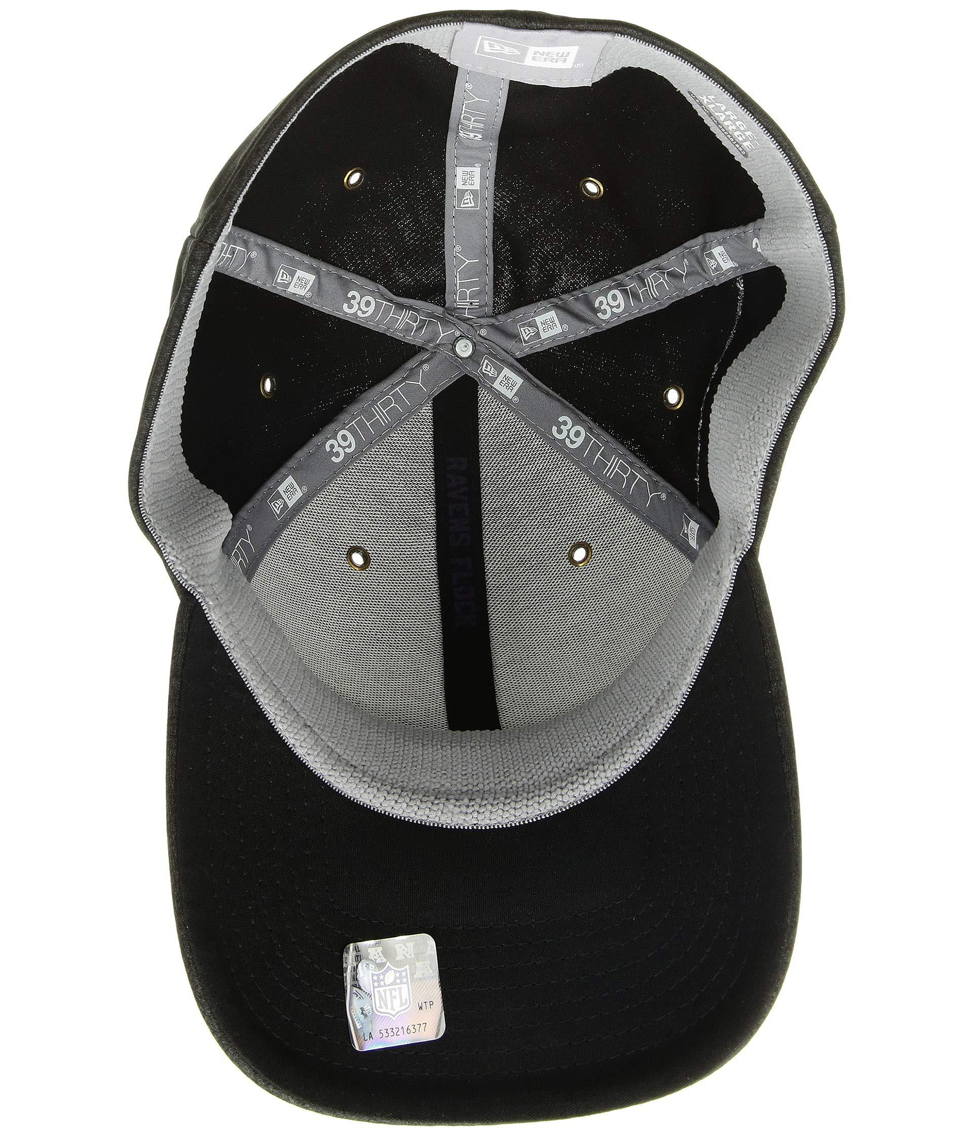 Lyst - Ktz 39thirty Official Sideline Home Stretch Fit - Baltimore Ravens  (black purple) Caps in Black for Men 9262919b0
