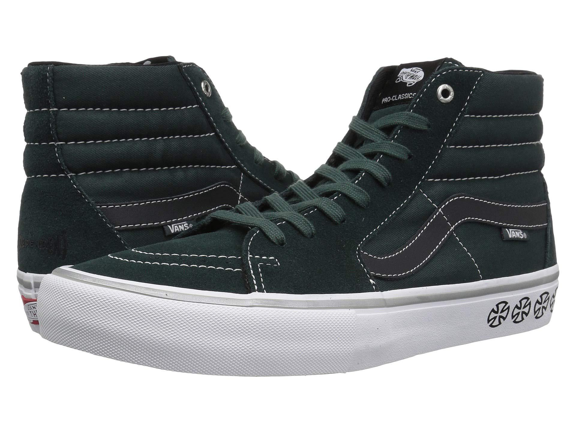 2eb7e5b343 Lyst - Vans Sk8-hitm Pro ((independent) Spruce) Men s Skate Shoes in ...