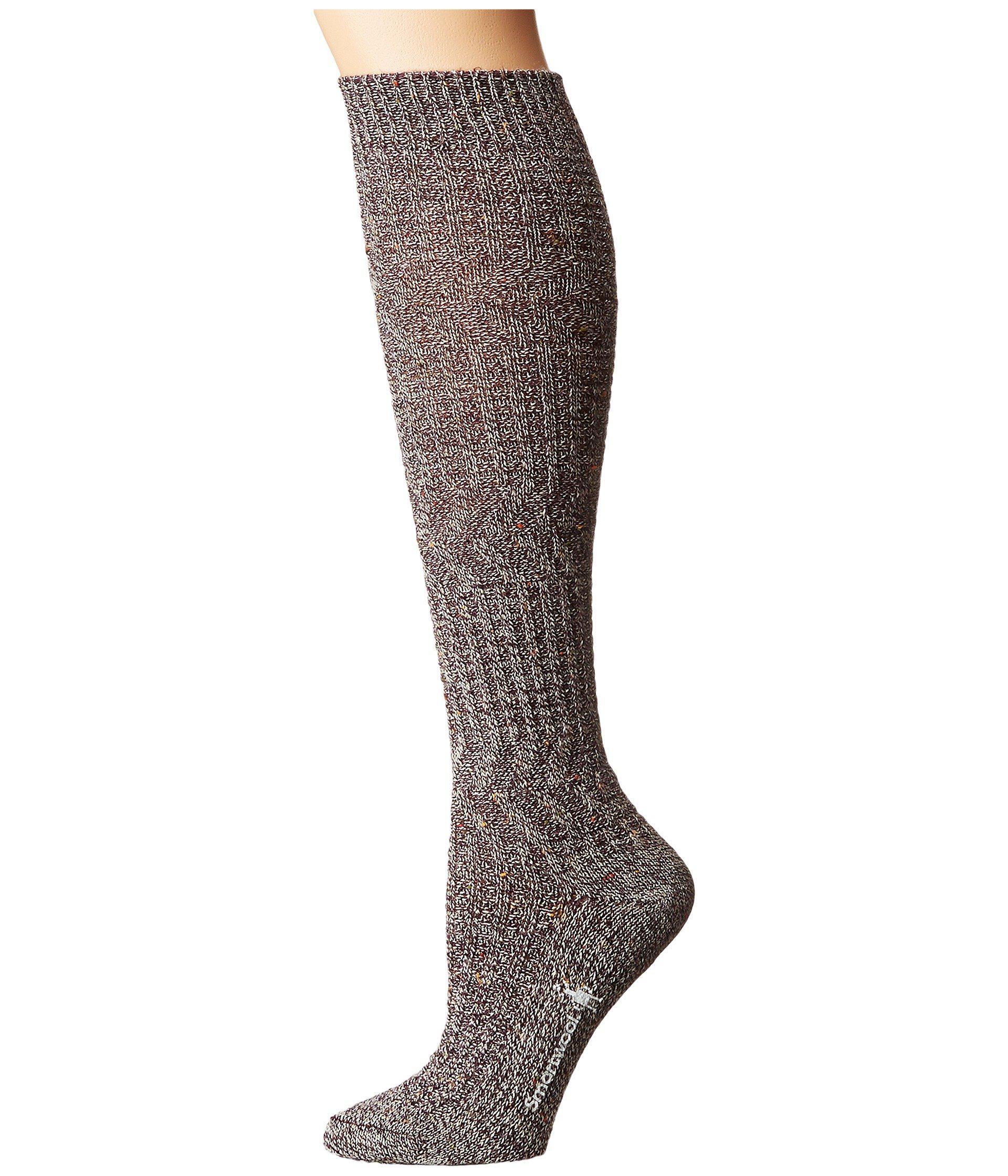0977d15a2 Lyst - Smartwool Wheat Fields Knee Highs (bordeaux Heather) Women s ...
