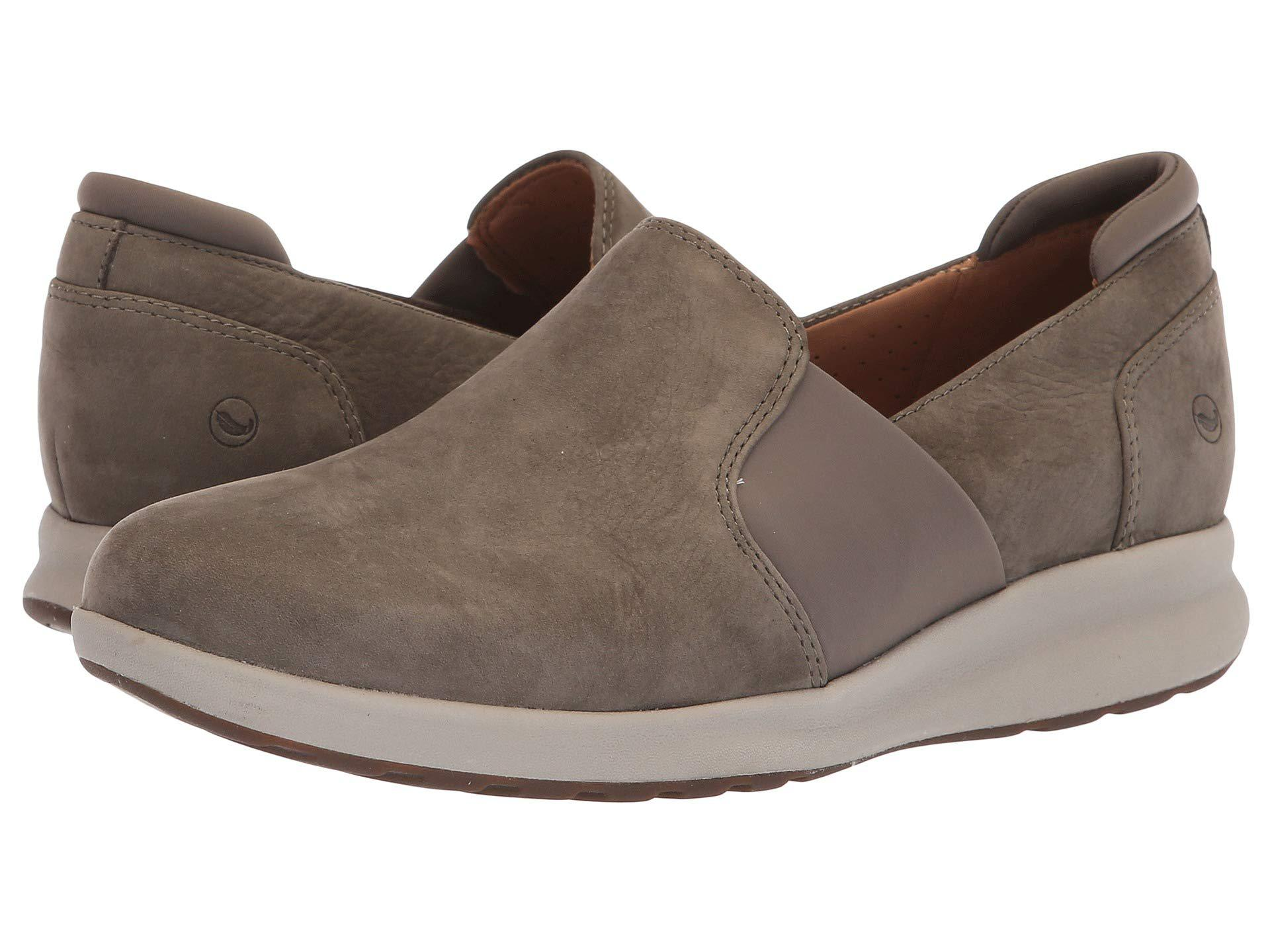 f7c7fe723b Lyst - Clarks Un Adorn Step (black Leather) Women's Shoes in Brown