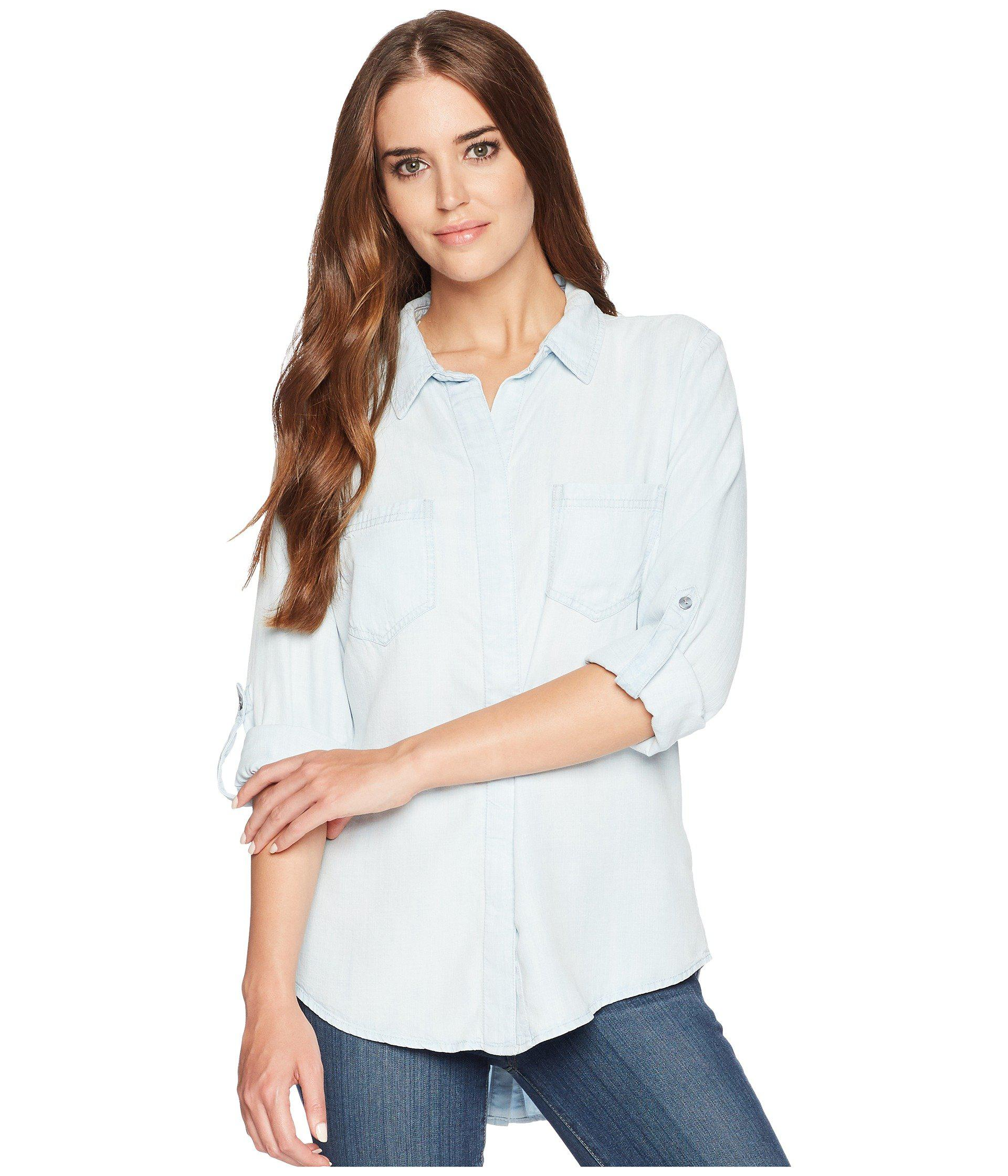 4f9607ee926 Lyst - Liverpool Jeans Company Button Down Shirt (del Norte Bleach ...