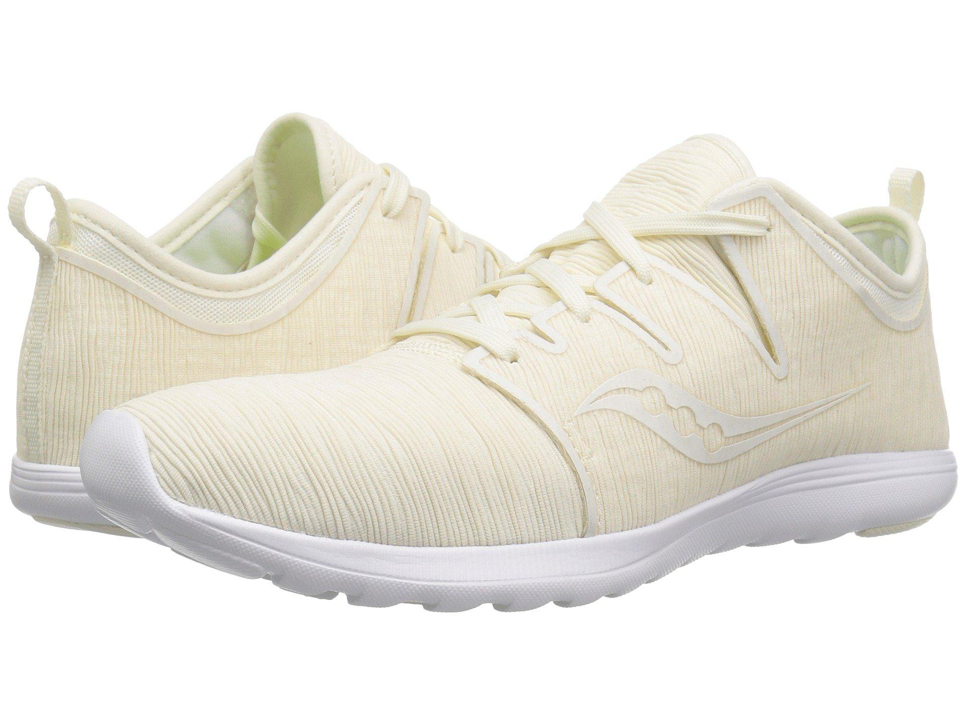 5a6113252bd7 Lyst - Saucony Eros Lace (coral Multi) Women s Shoes in White