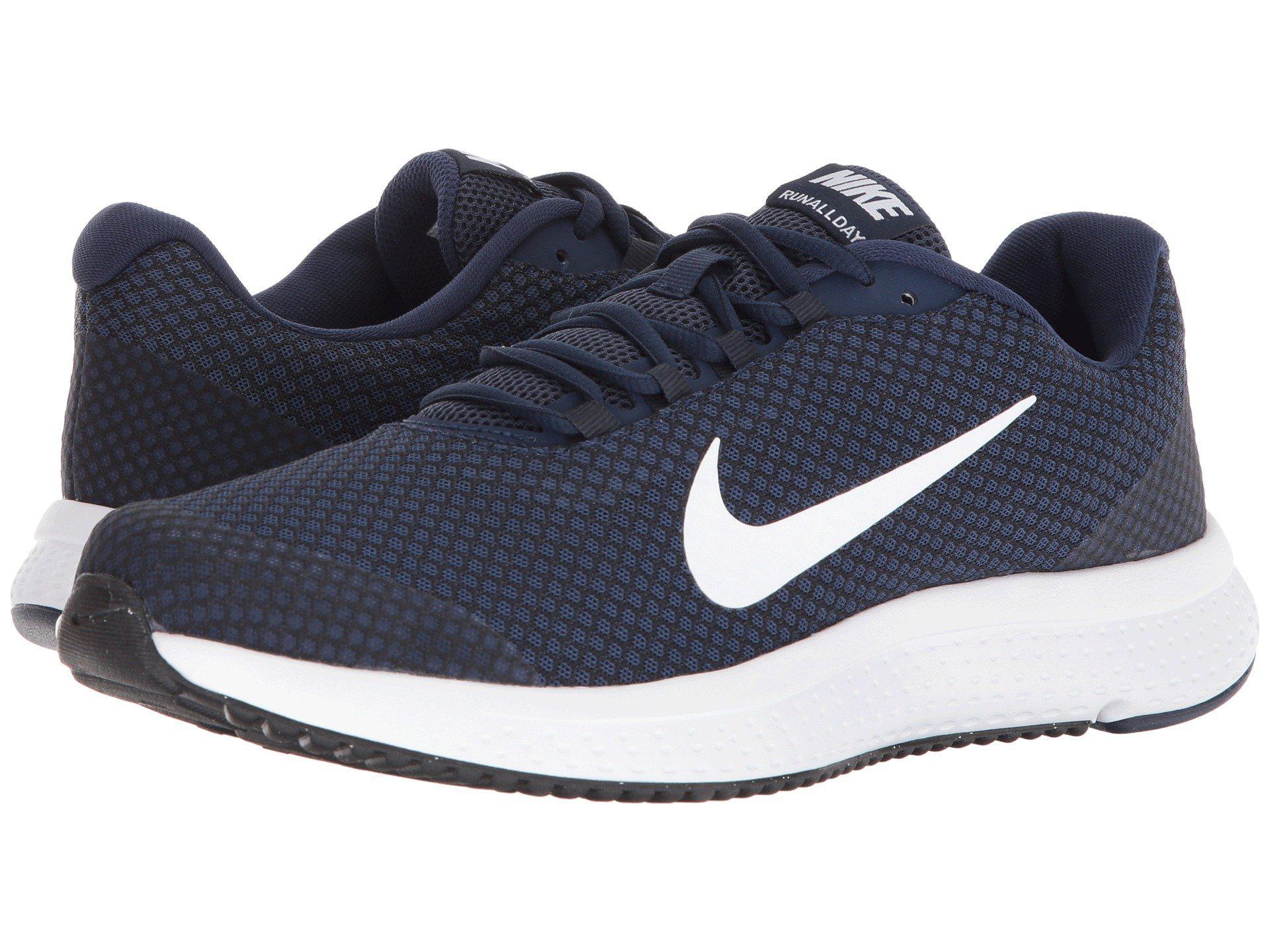 Lyst Nike Runallday (wolf Grey/black/cool Grey/hyper Crimson