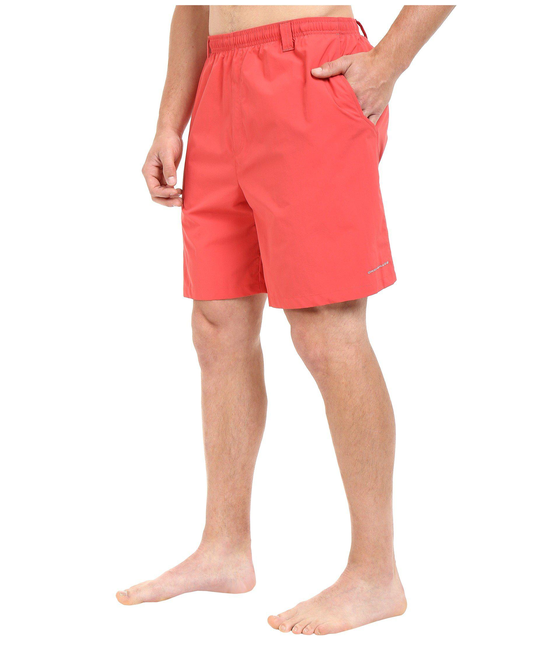 ce1921cc8e4 Lyst - Columbia Big Tall Backcast Iiitm Water Trunk (cool Grey) Men's  Swimwear in Red for Men