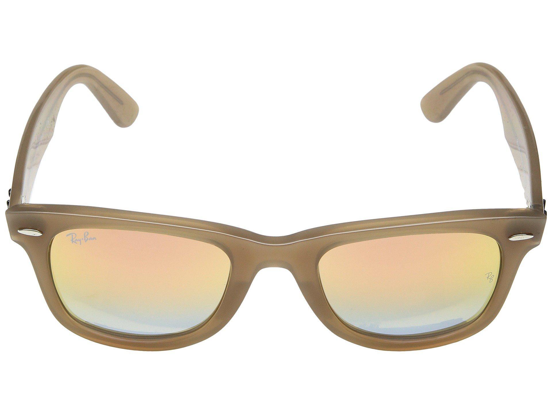 adf9dfda2f Ray-Ban - Brown Wayfarer Ease Rb4340 50mm (black polarized Green Classic G.  View fullscreen