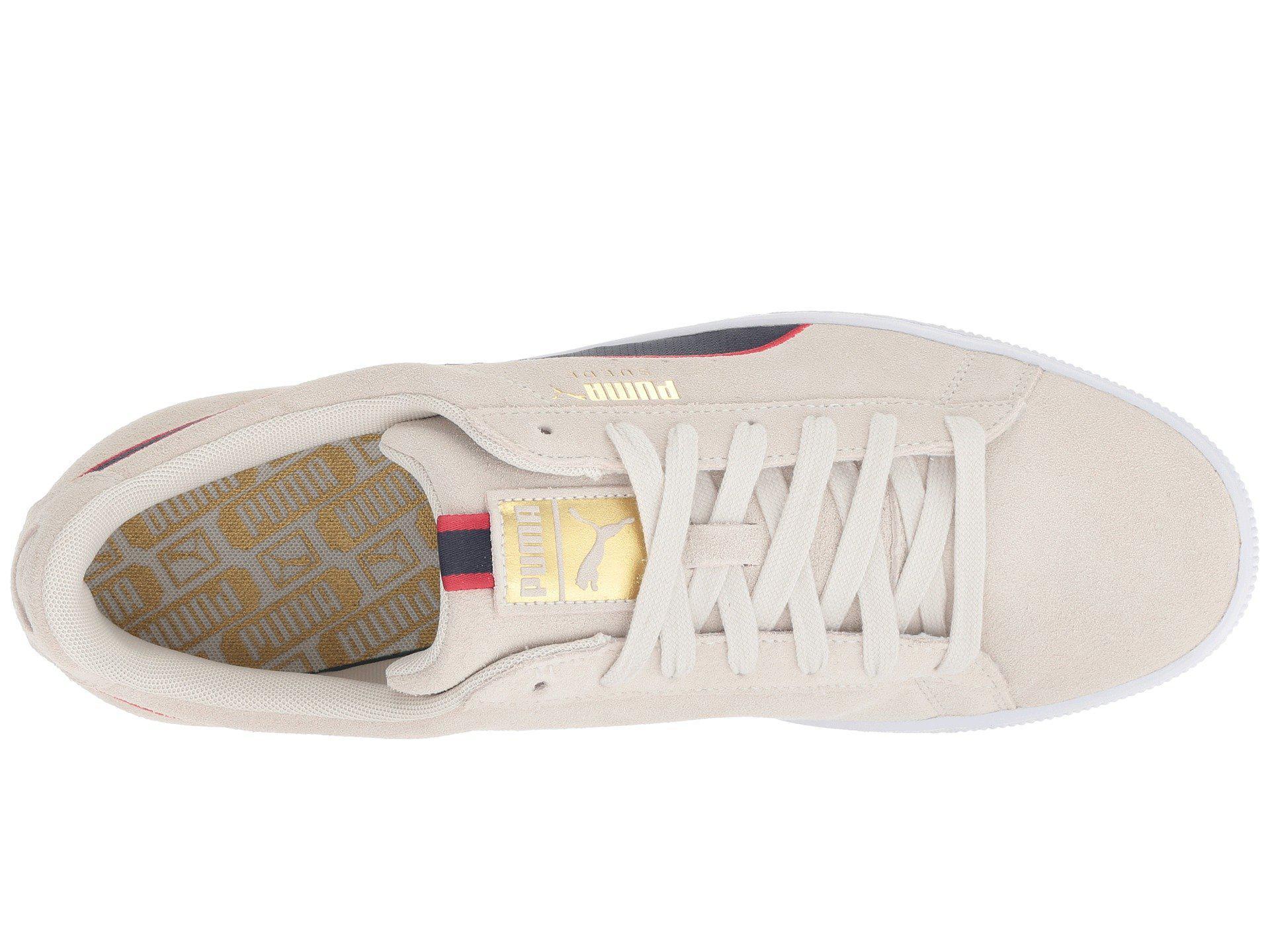 649917560340f3 Lyst - PUMA Suede Classic Sport Stripes (vaporous Gray iron Gate ...