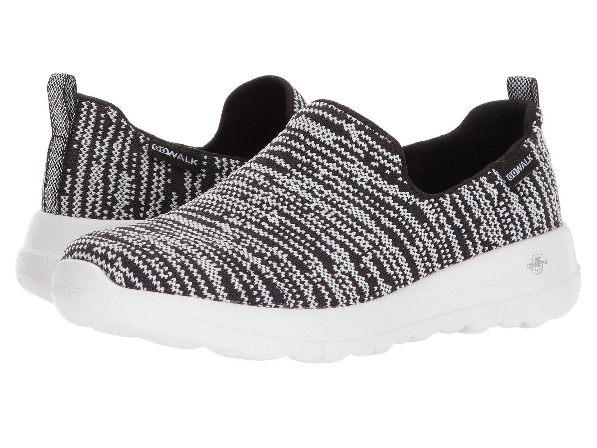 883d32a15ae3 Lyst - Skechers Go Walk Joy - 15602 (black gray) Women s Shoes in Black