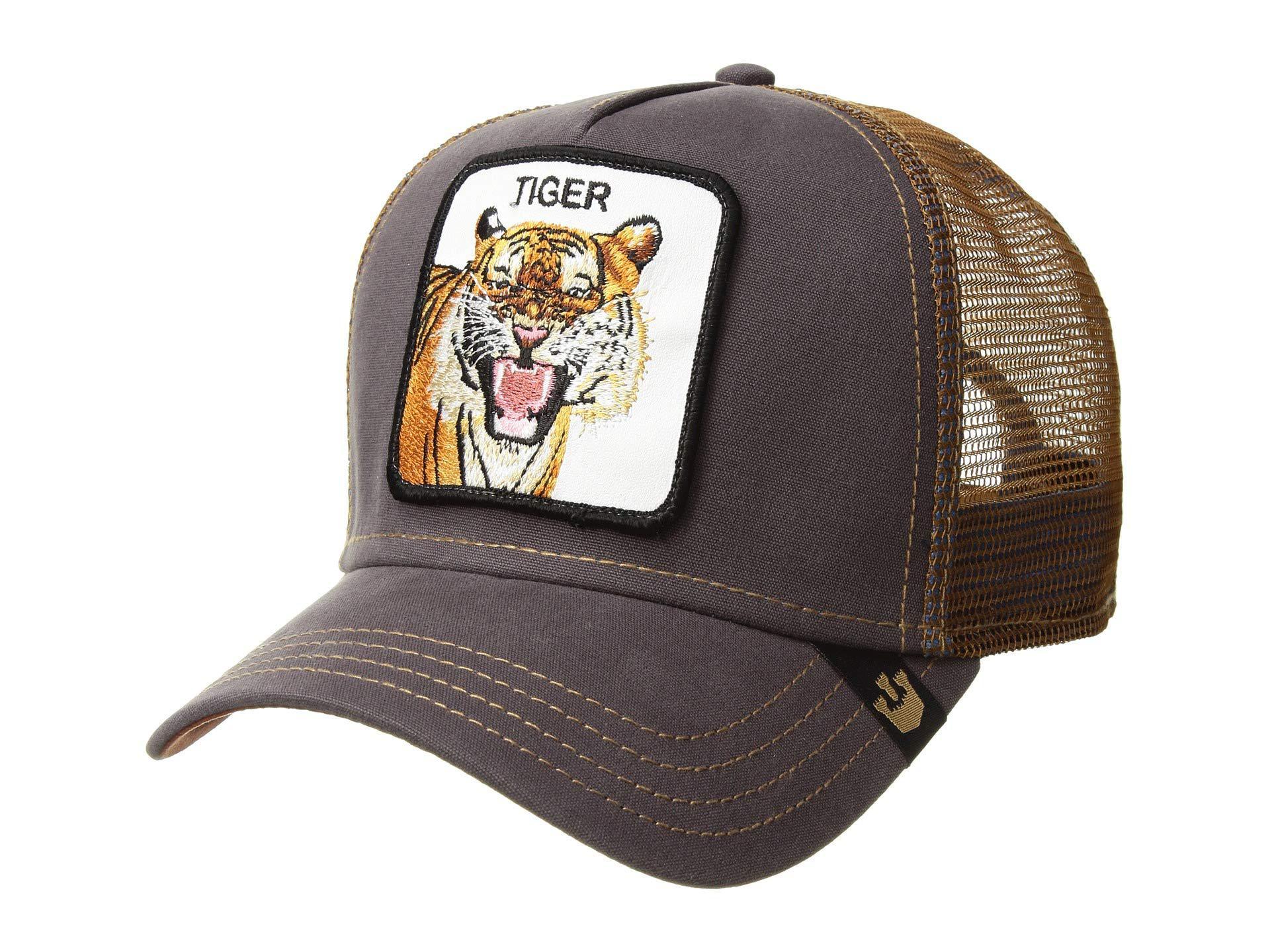 be1cc6a43 Goorin Bros Animal Farm Snap Back Trucker Hat (brown Beaver) Caps in ...