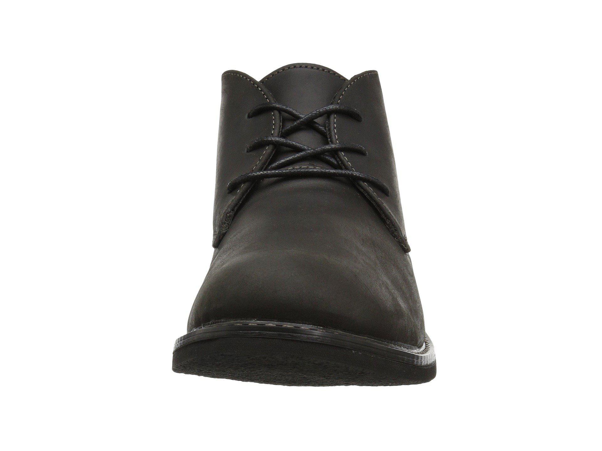 0d8e0816e3c16 Nunn Bush - Black Lancaster Plain Toe Chukka Boot (brown Leather) Men s  Lace-. View fullscreen